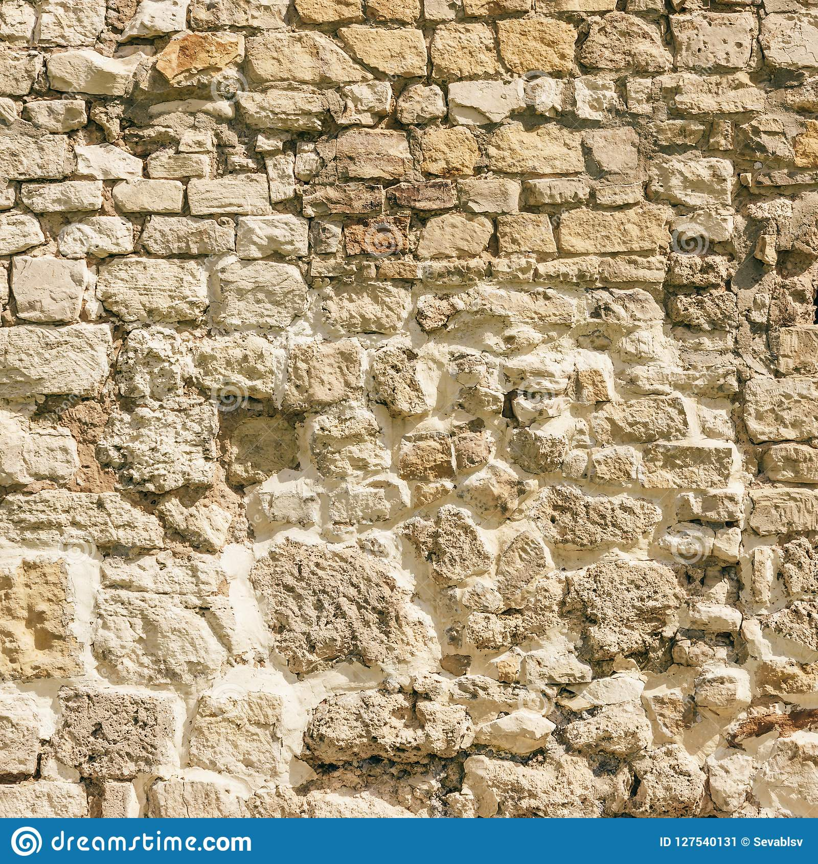 Background of Weathered Stone Wall.
