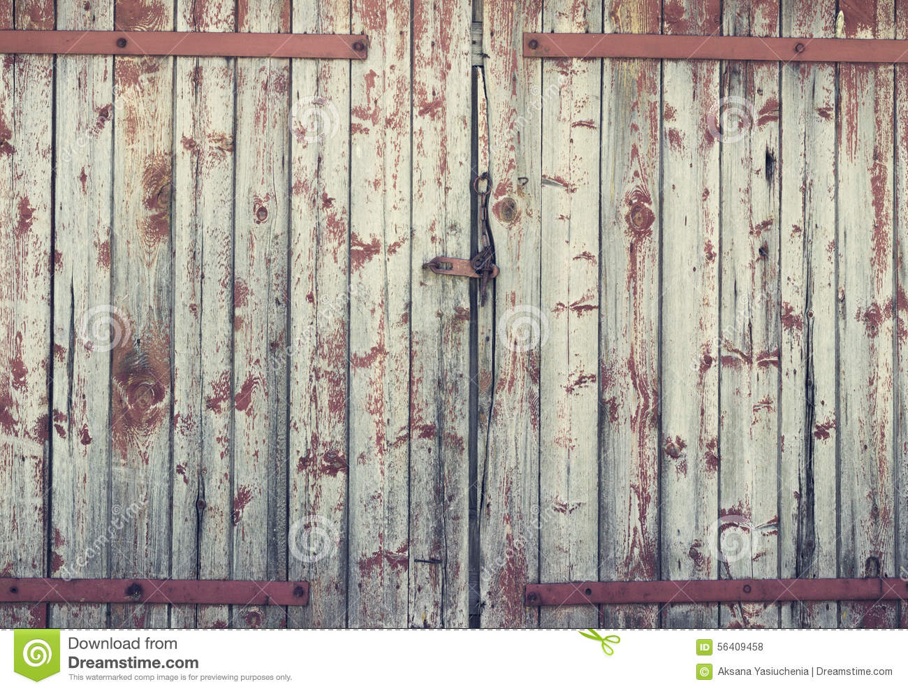 Background Old Wooden Barn Door Stock Photo Image 56409458