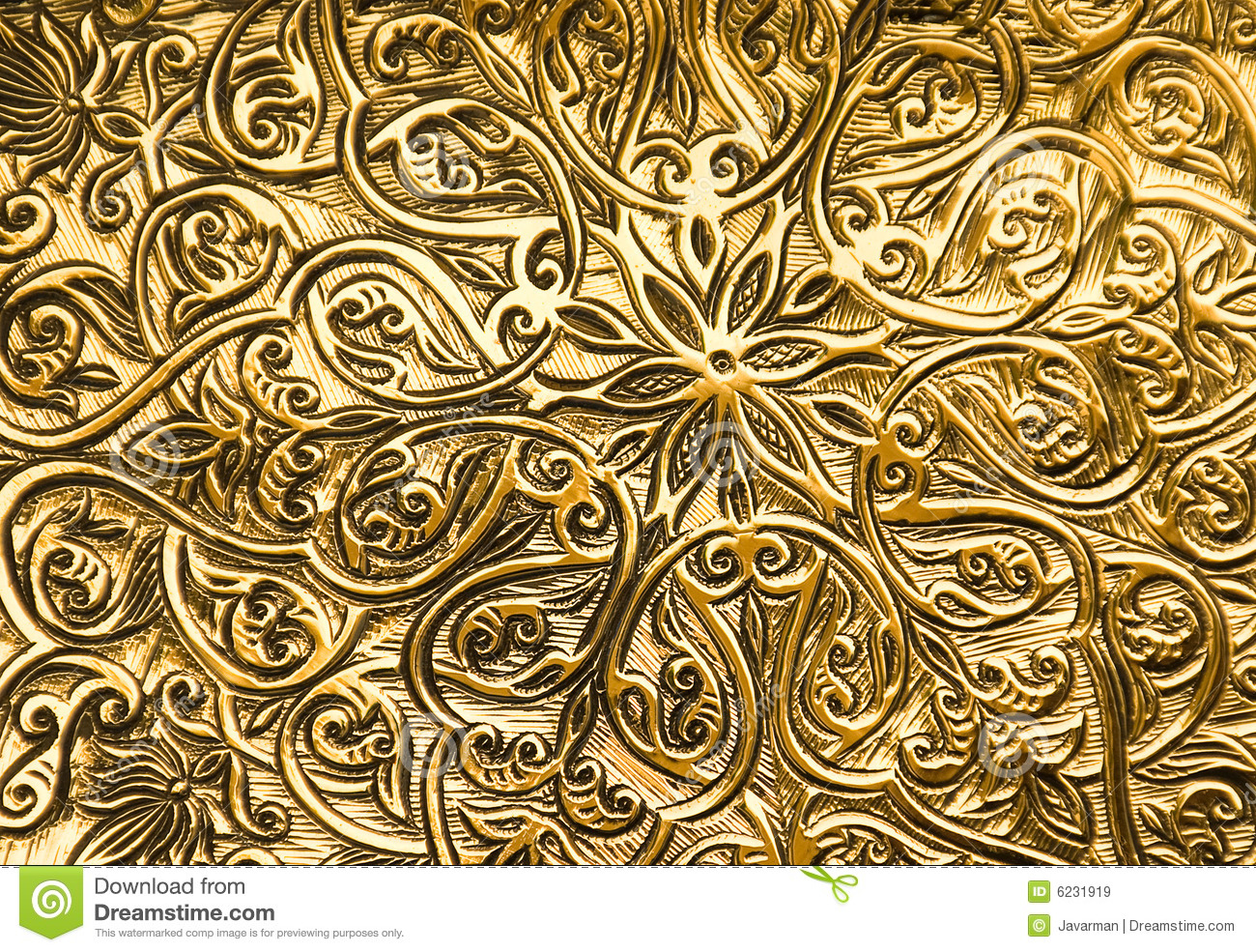 background with oriental ornaments royalty free stock