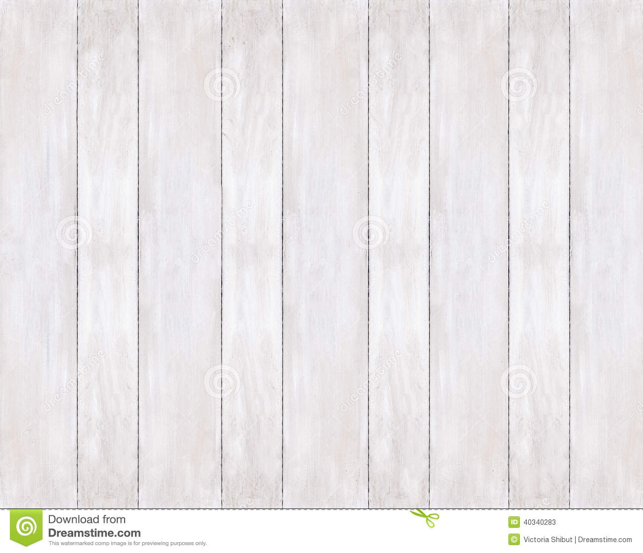 Background Of Painted White Wooden Boards Stock Photo