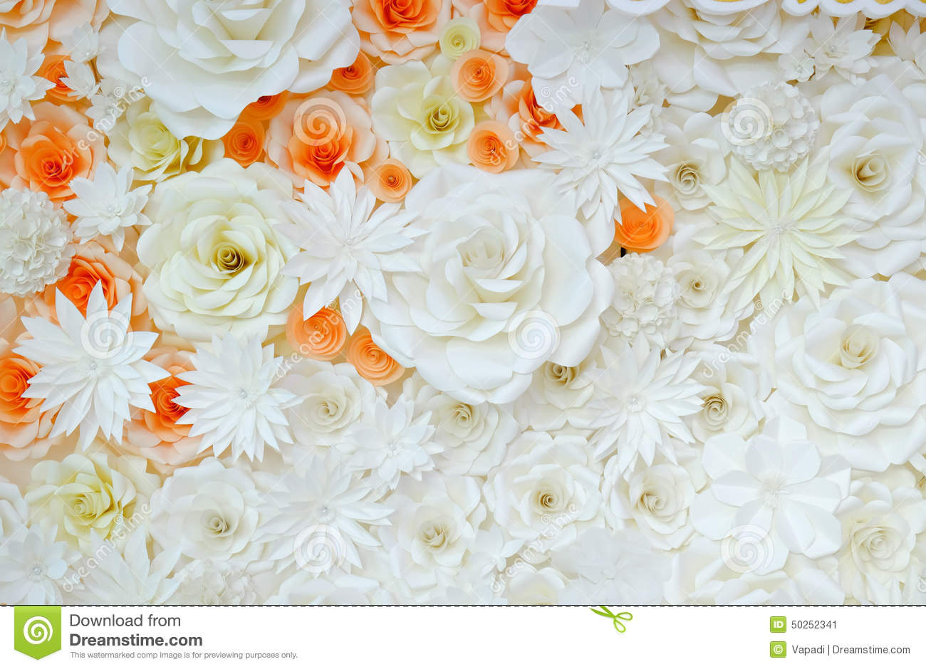 Background Of Paper Folding Flower Stock Image Image Of Greeting