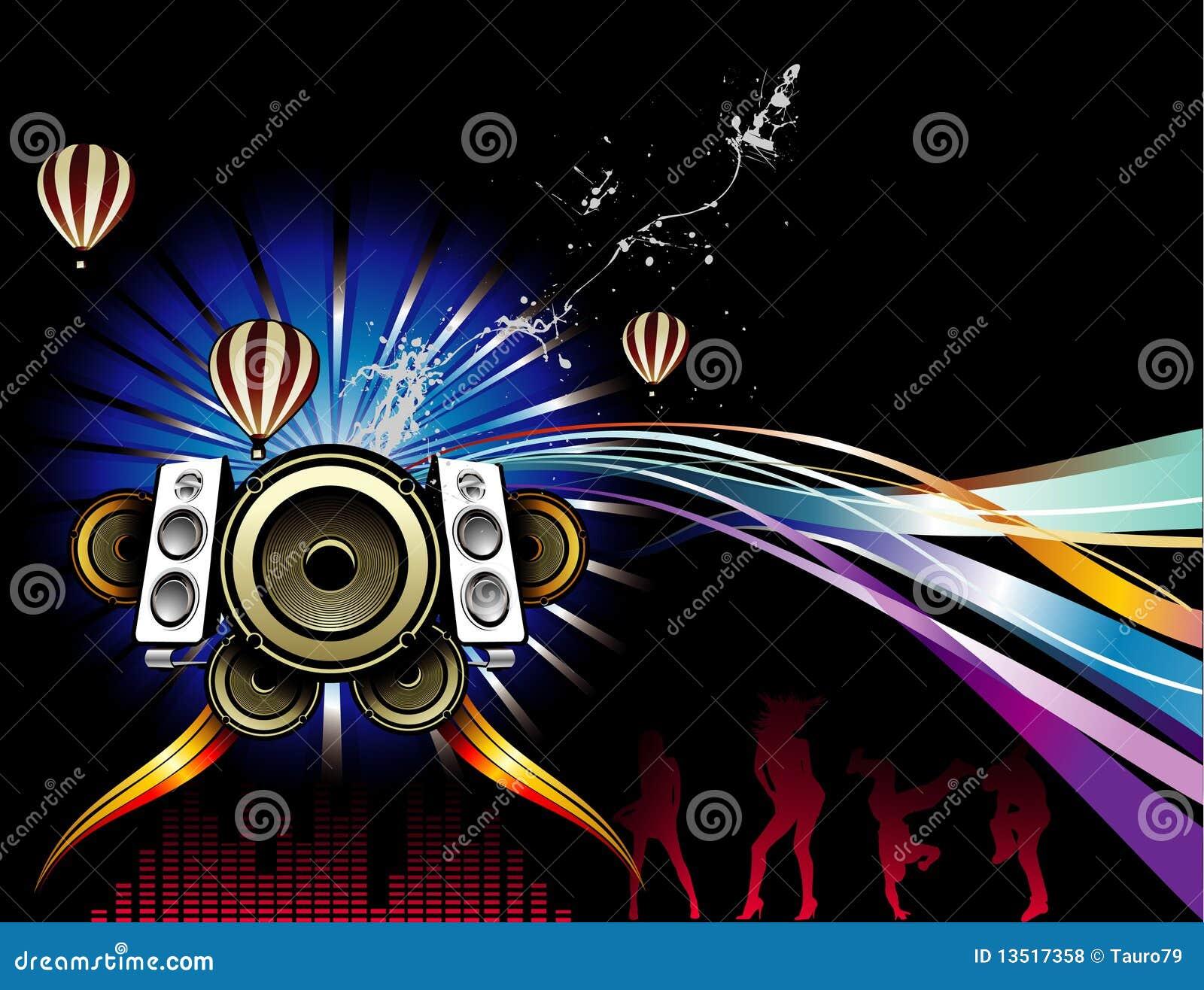 Background party illustration