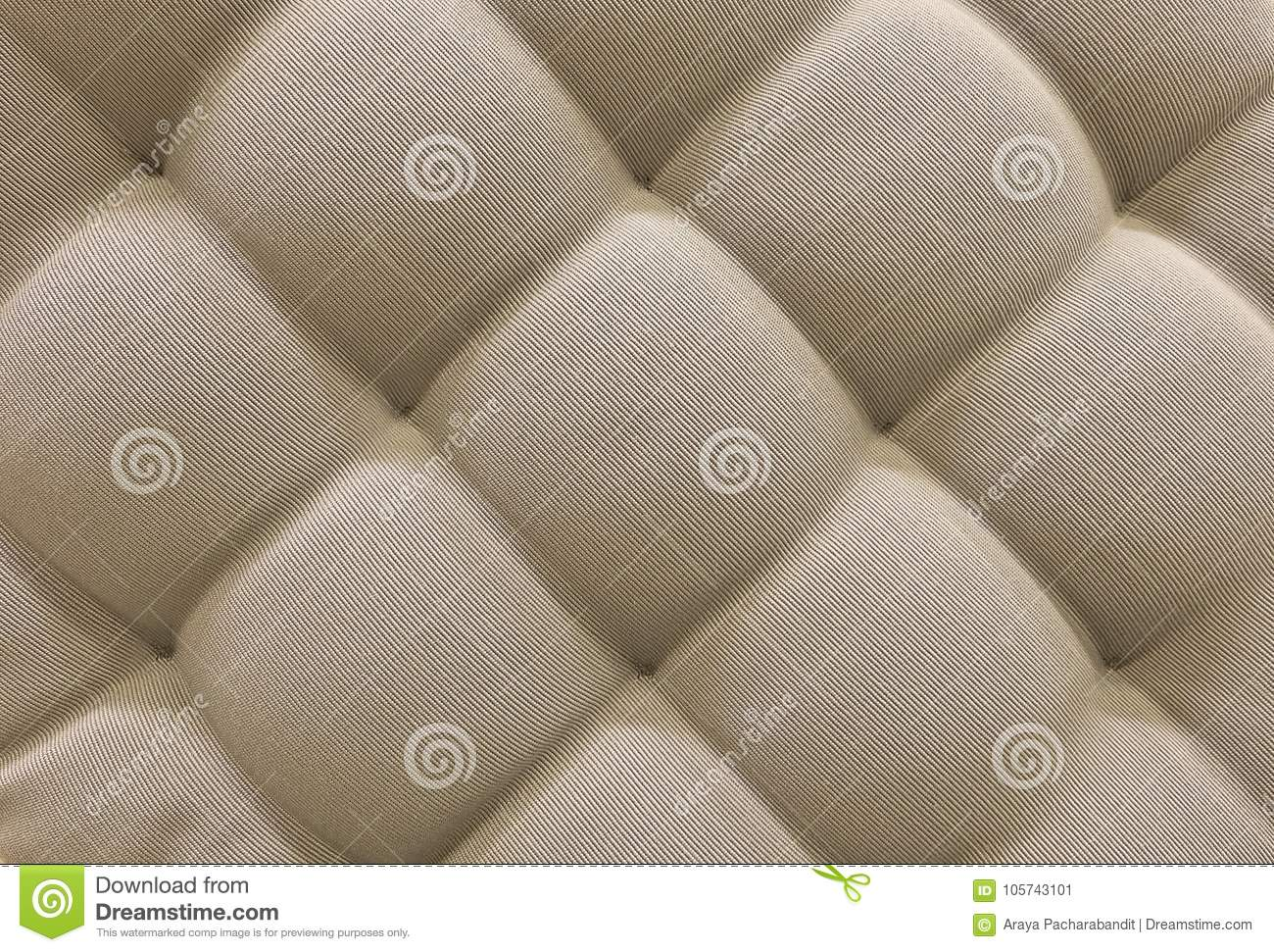 Texture Of Brown Upholstery Fabric Pattern Background Stock Image