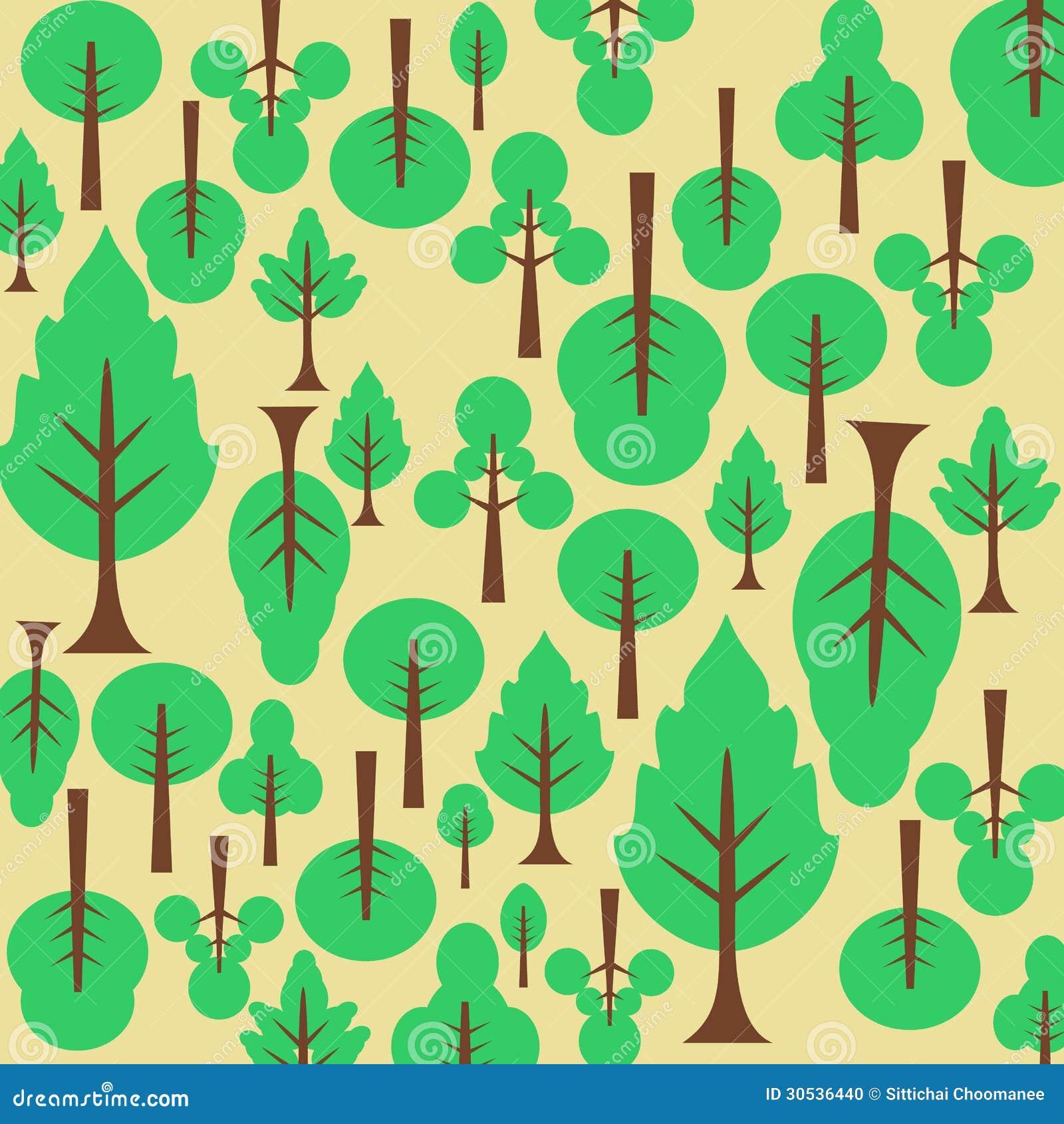 Fabric tree pattern - Background Pattern Tree