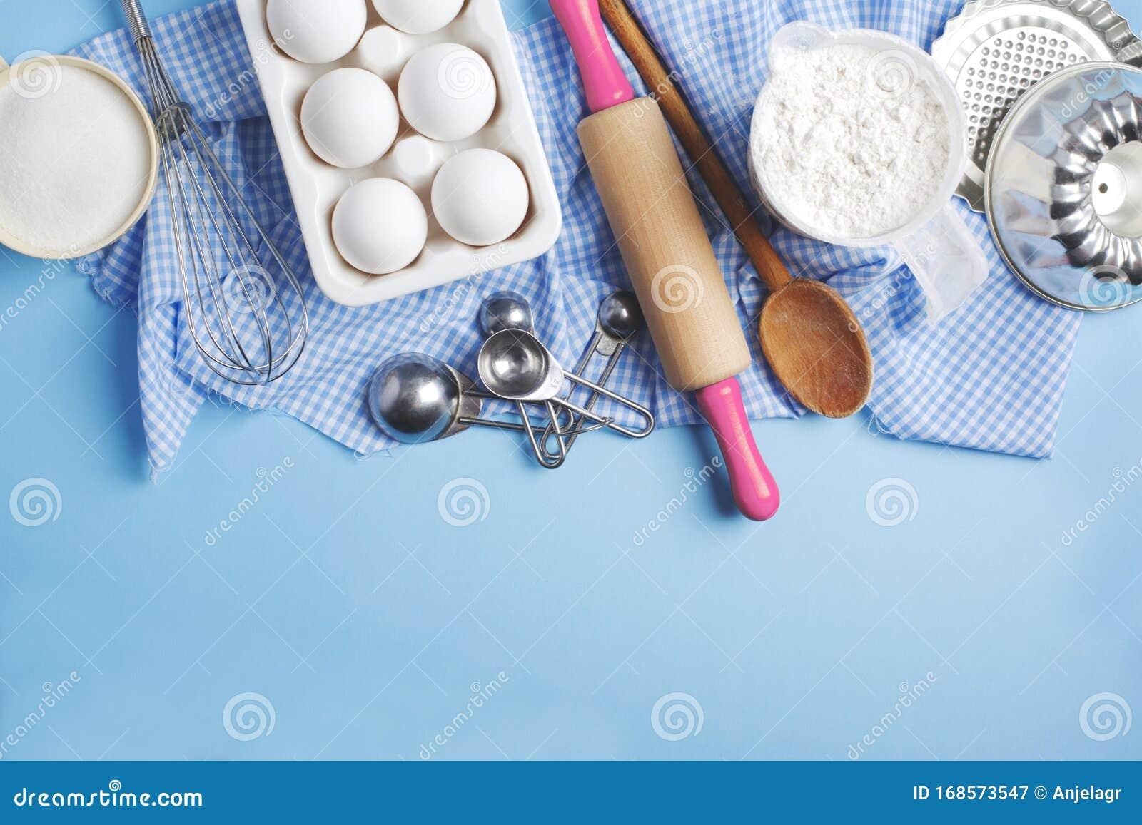 Background Rahmen Vorbereitung Des Osterbackens Zutaten Und Kuchenartikel Zum Backen Stockbild Bild Von Zutaten Vorbereitung 168573547