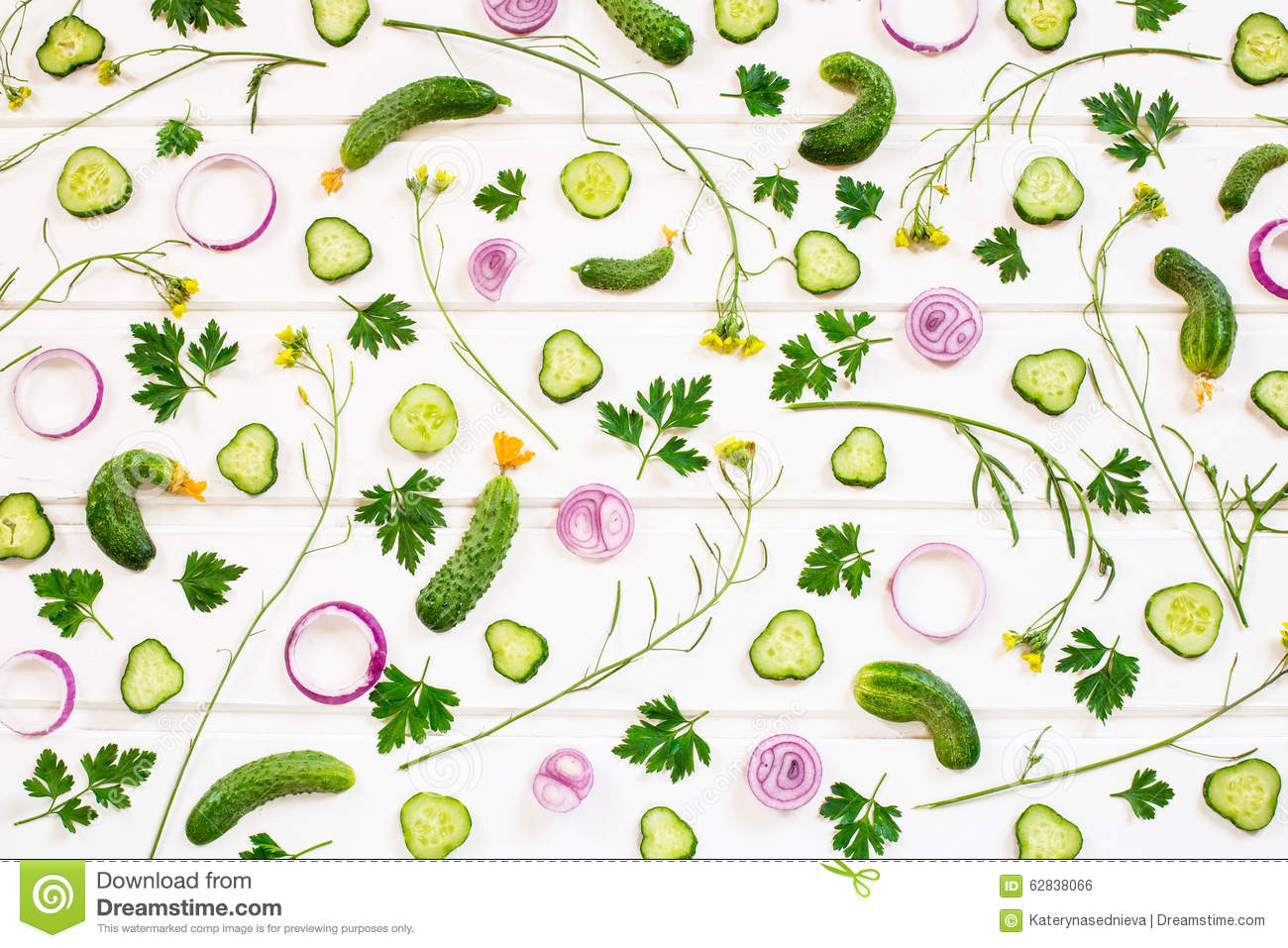Background of raw vegetables.