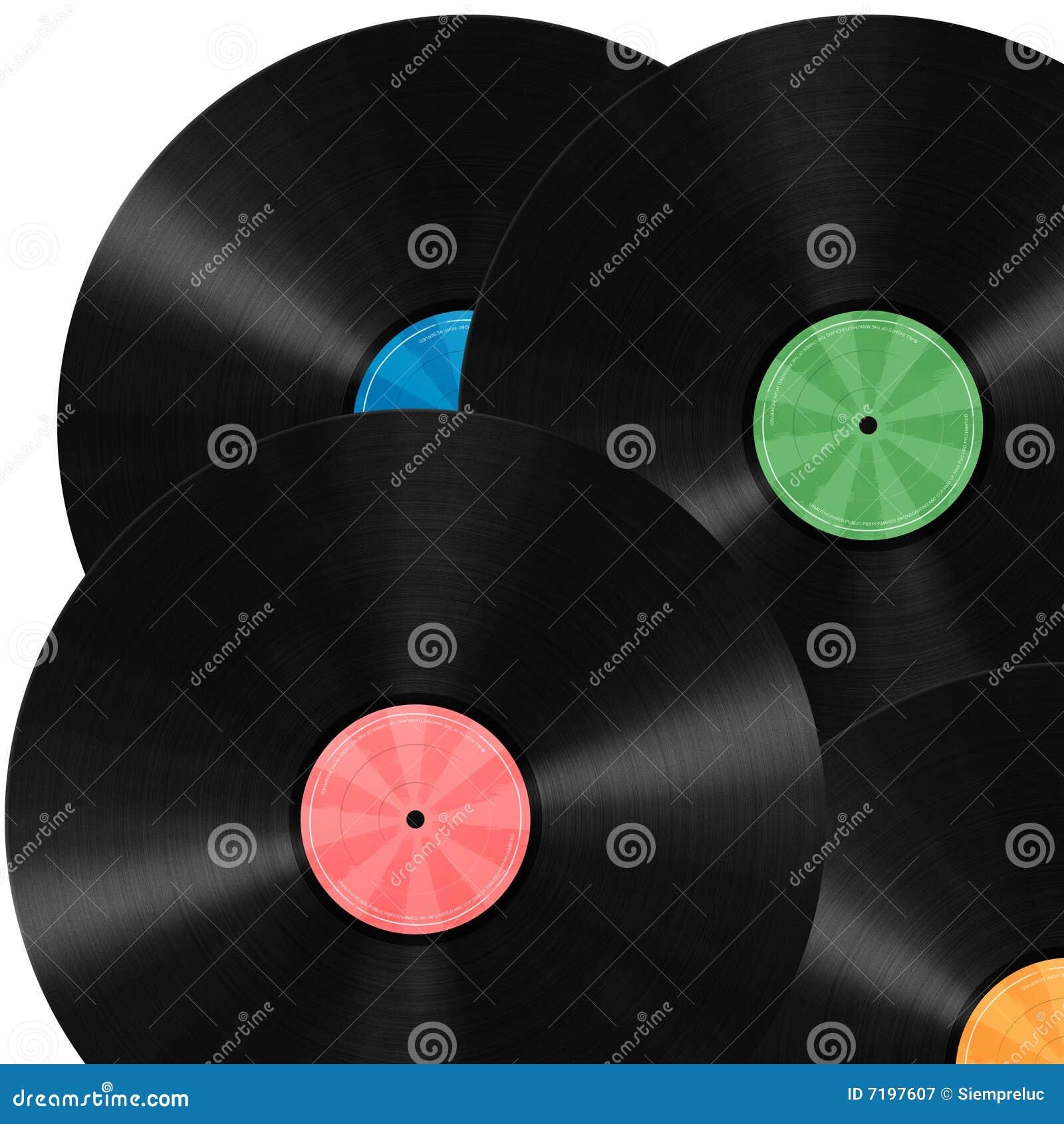 Background record vinyl