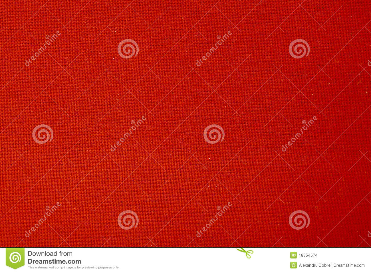 Background (red fabric)