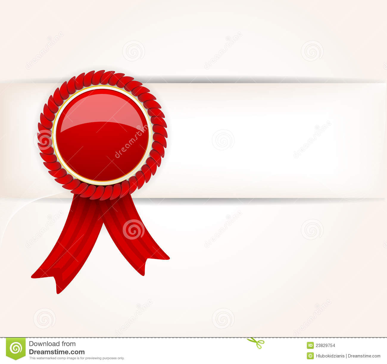 Red gift bows border with clipping path for easy background removing - Background With Red Label Stock Images
