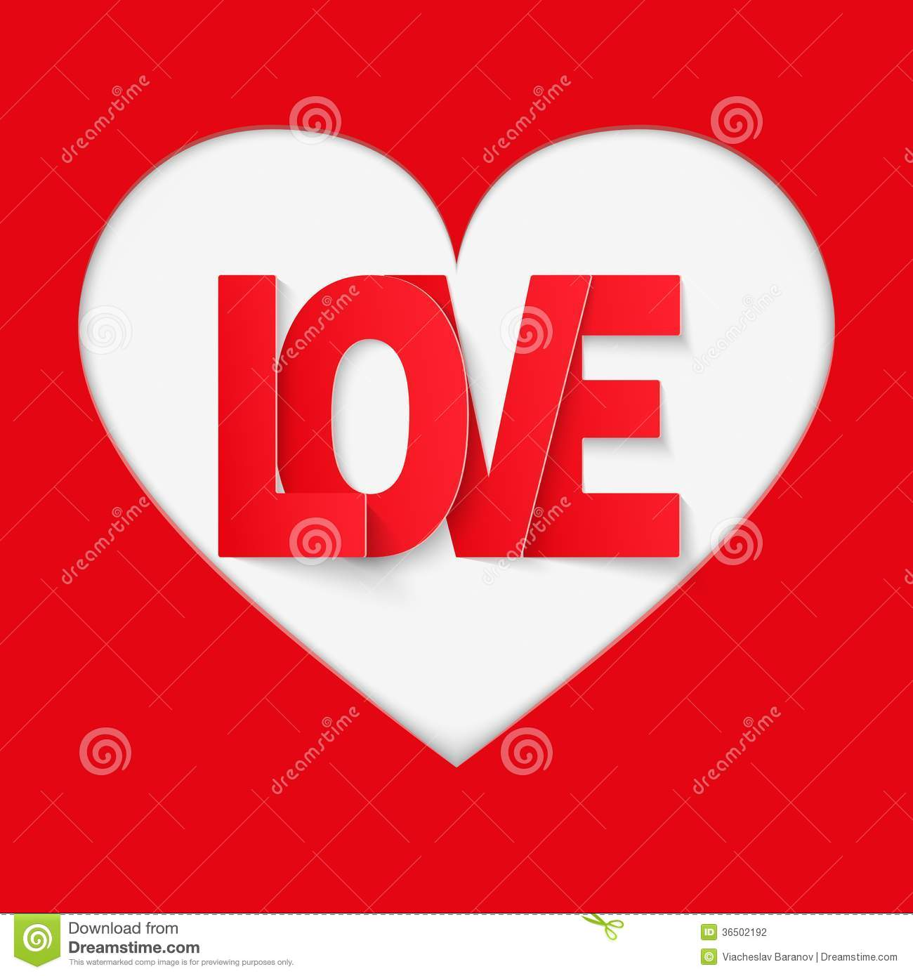 Background Red Letter Love Stock Photography - Image: 36502192
