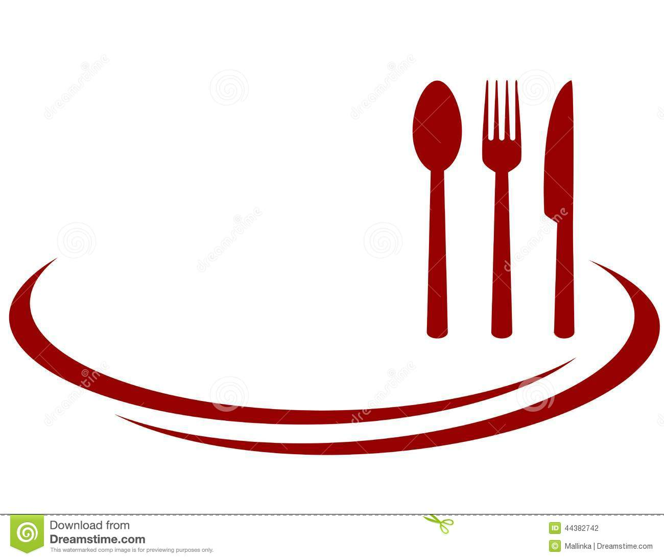 Background For Restaurant Stock Vector - Image: 44382742