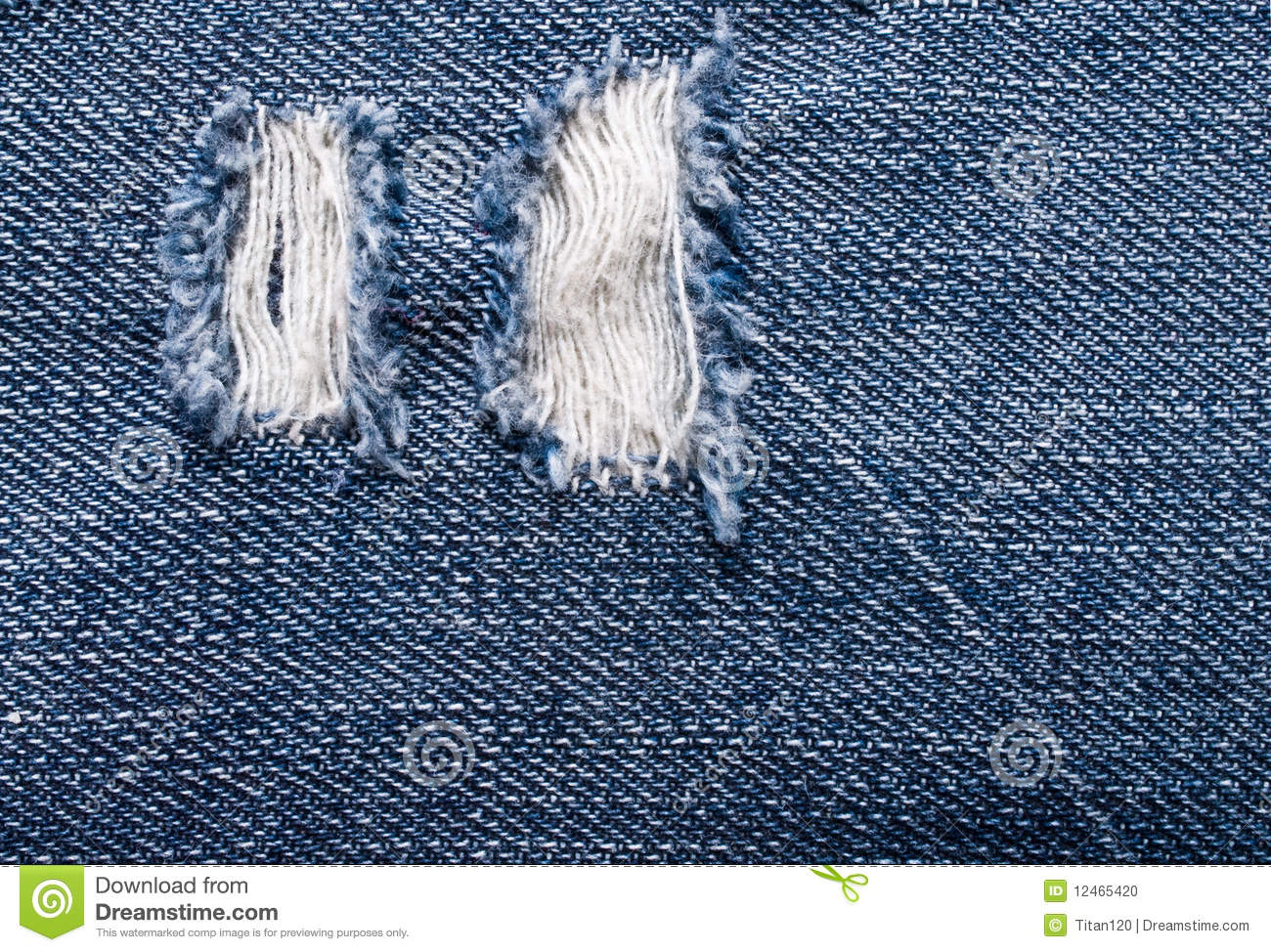 Background Of The Ripped Jeans Stock Photo - Image: 12465420