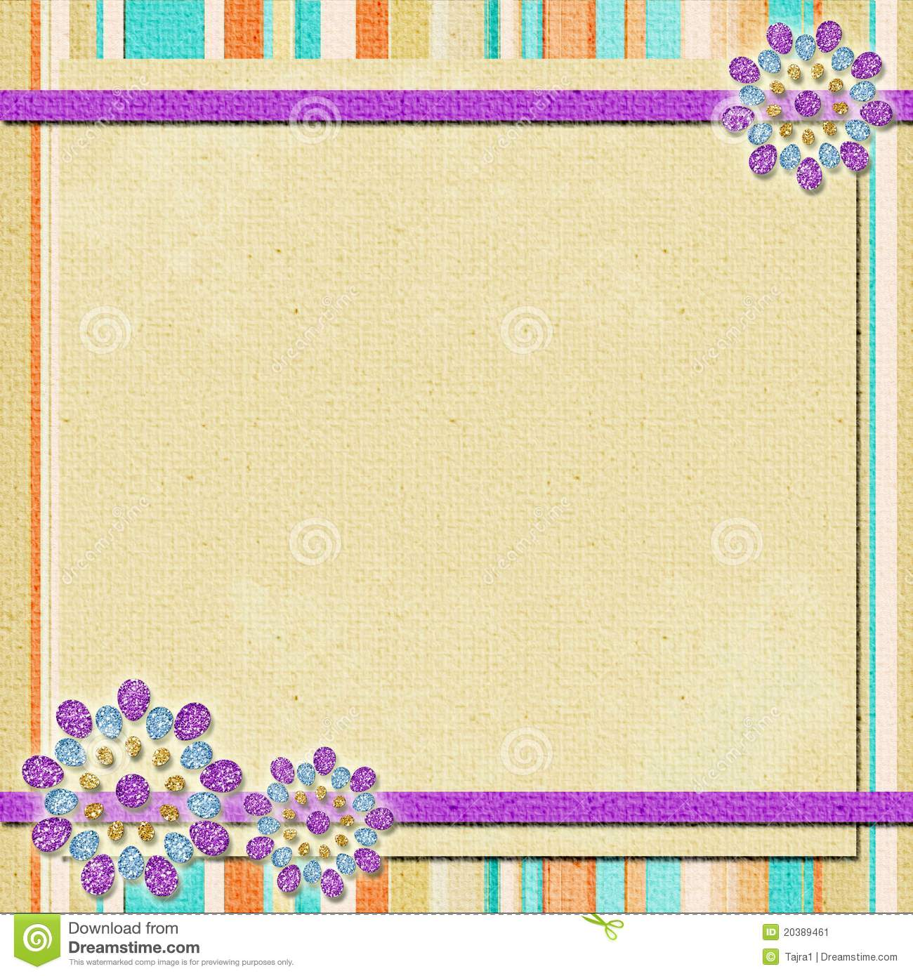 Background In Scrapbook Style Stock Image Image 20389461