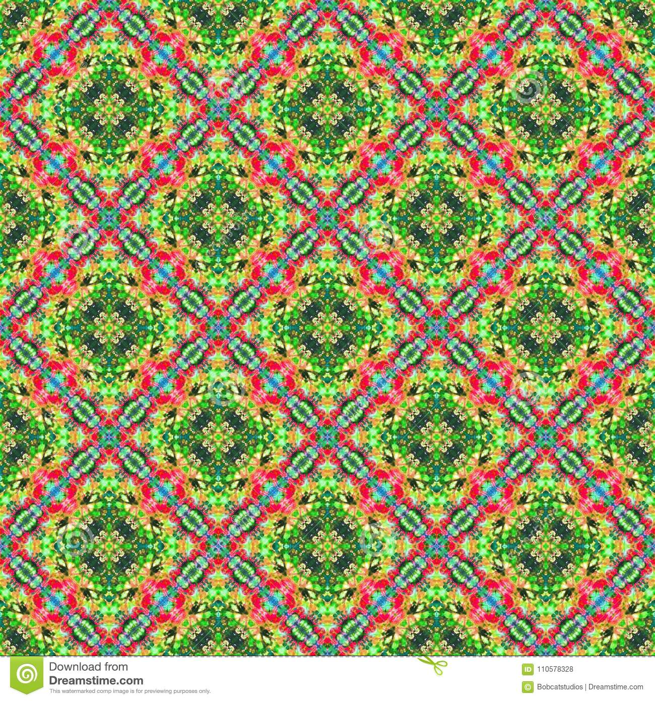 Background Seamless Abstract Tie Dye Pattern