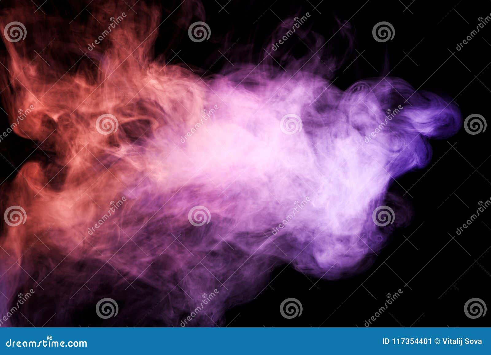 Background From The Smoke Of Vape Stock Illustration - Illustration