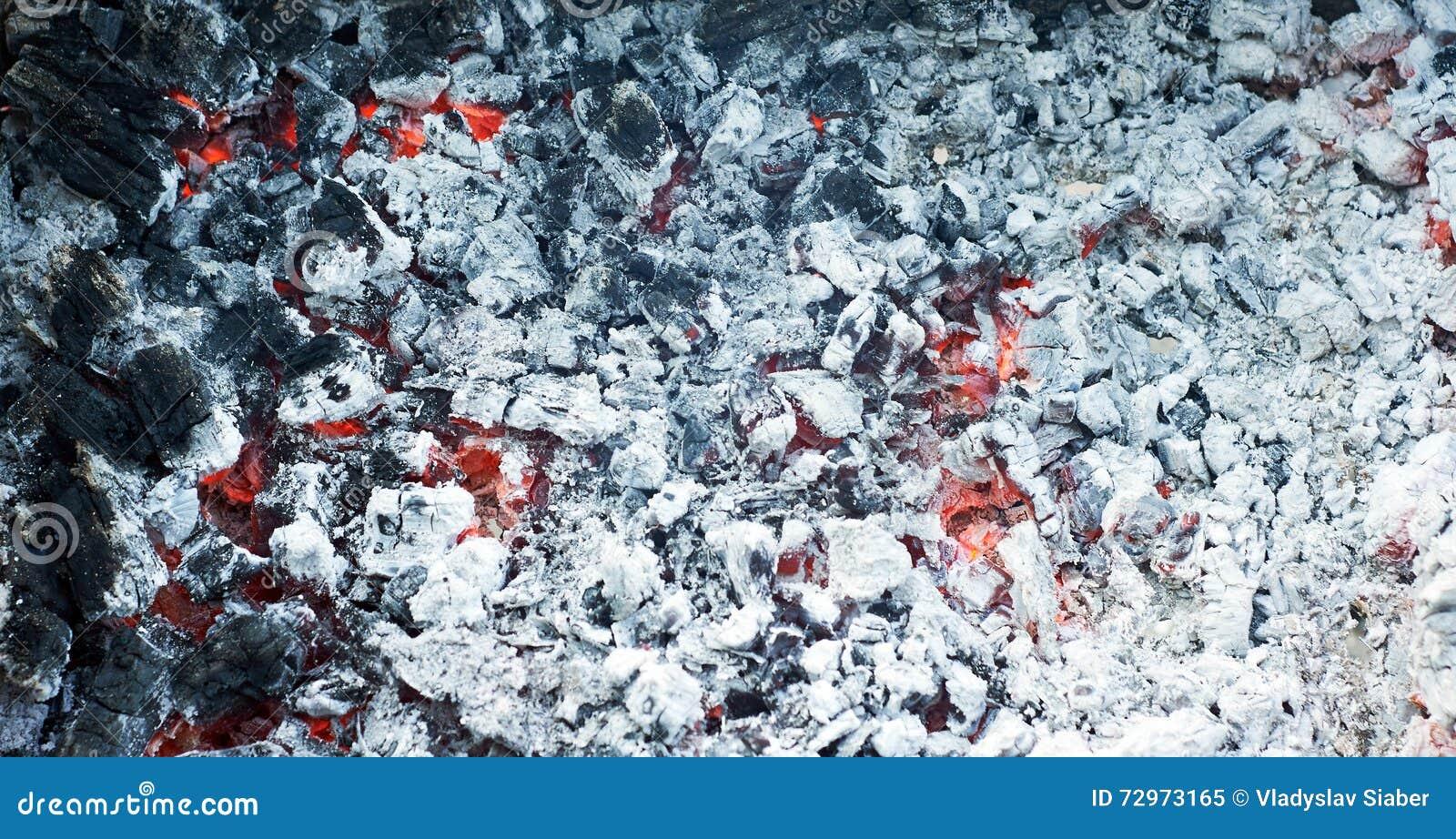 Ash charcoal