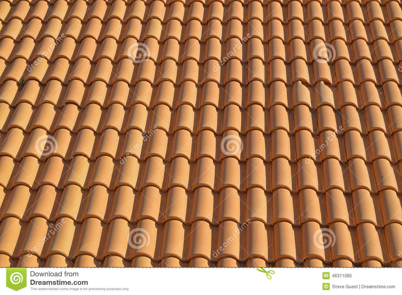 Spanish clay tiles for background or backdrop Spanish clay tile