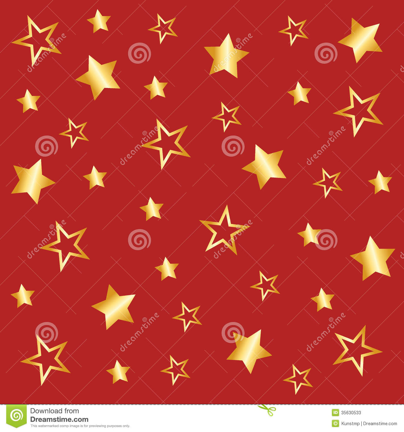 Background With Star Pattern In Red Stock Photos - Image: 35630533