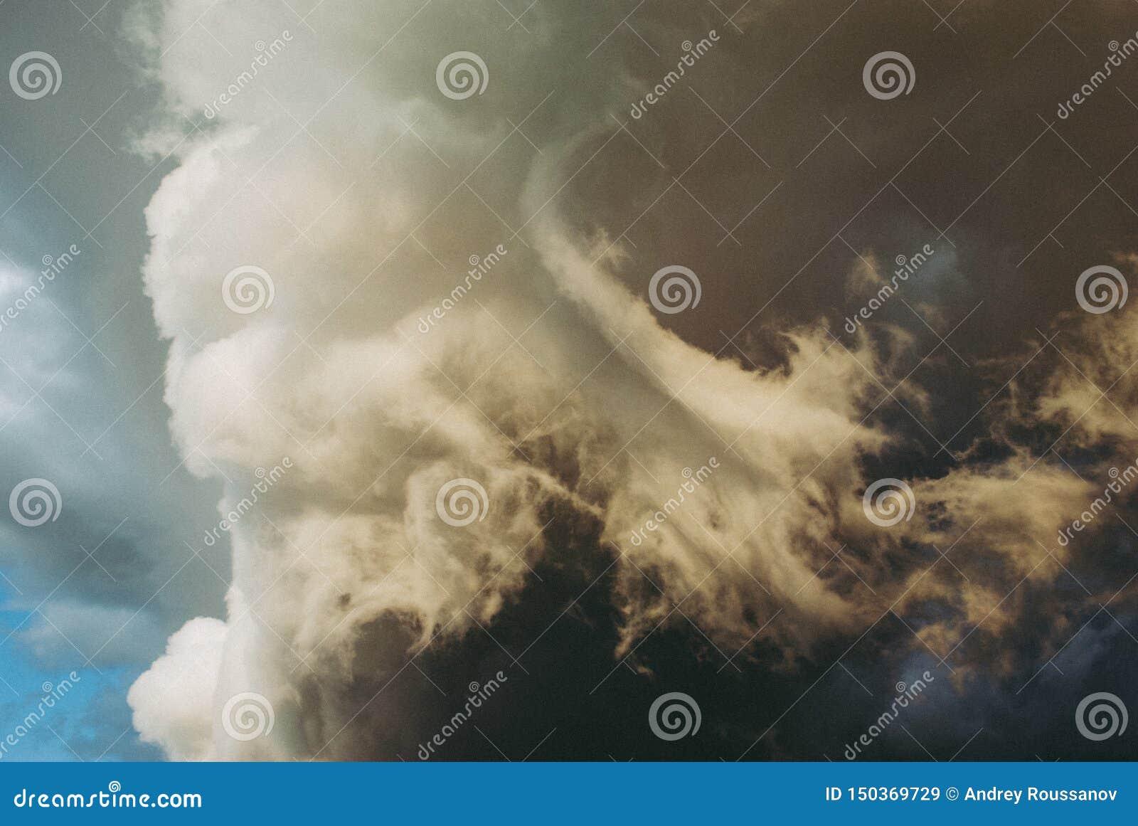 Background symbolizing the power of the elements.
