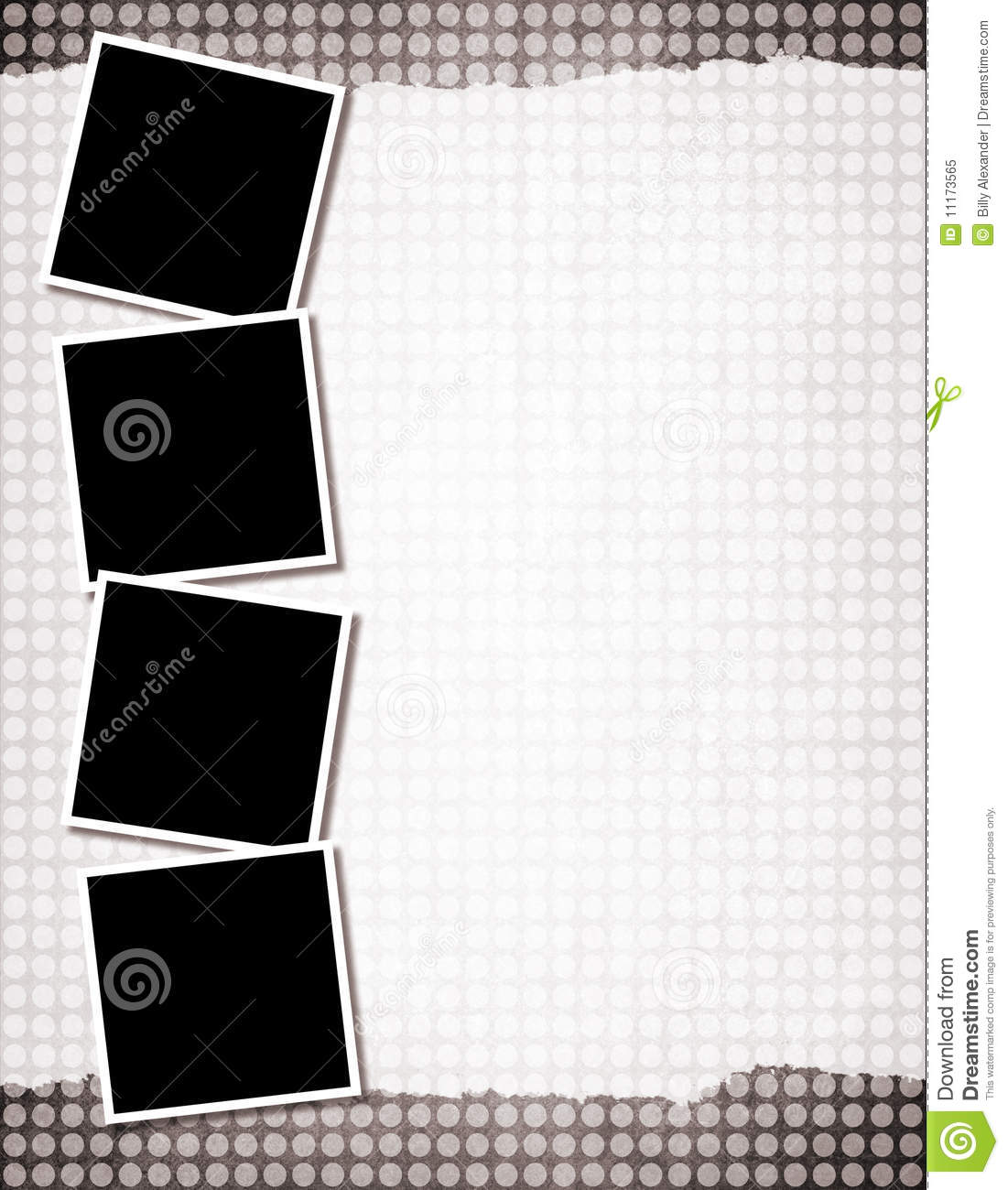 background template stock illustration illustration of torn 11173565