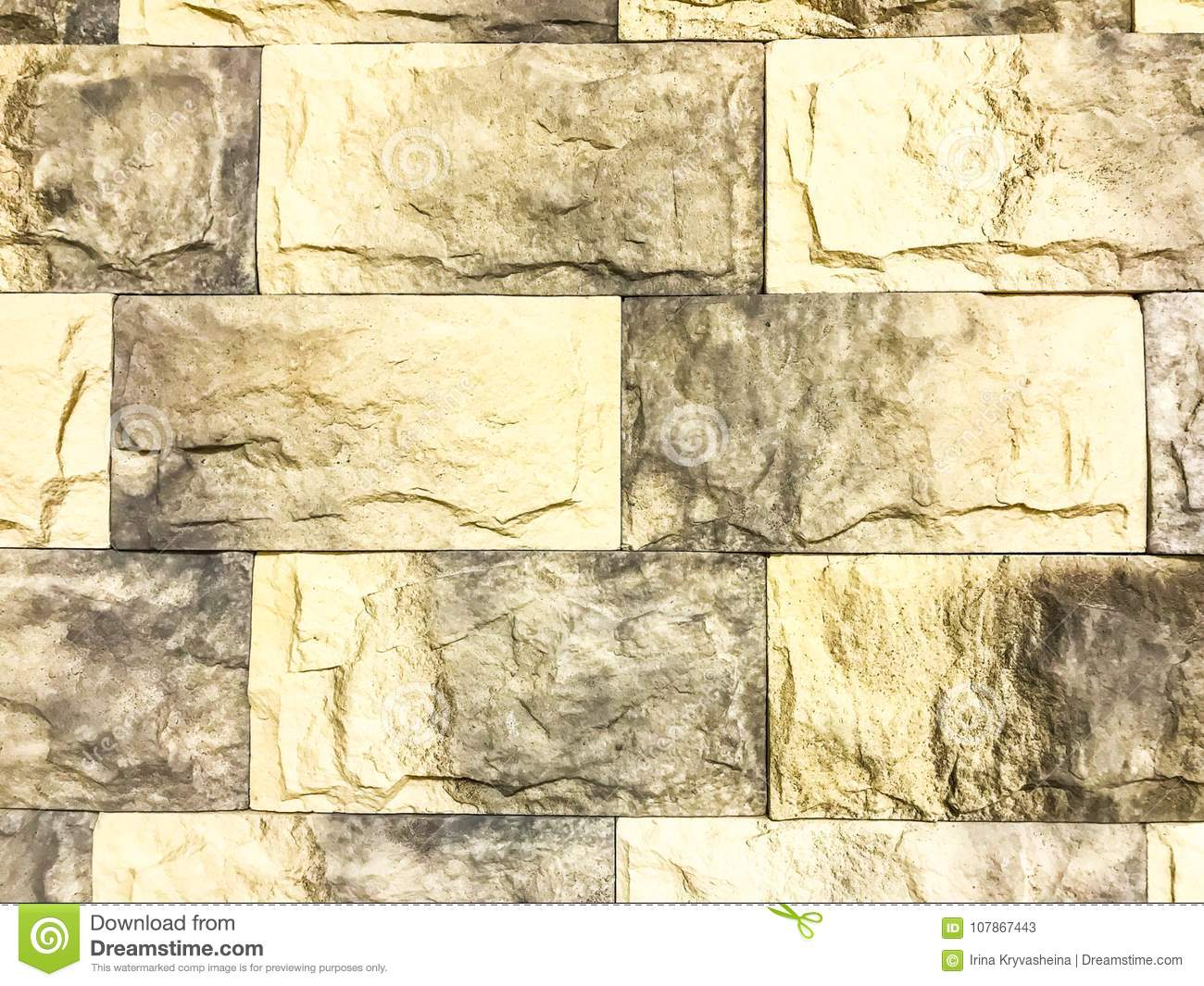 Background and texture of brick wall