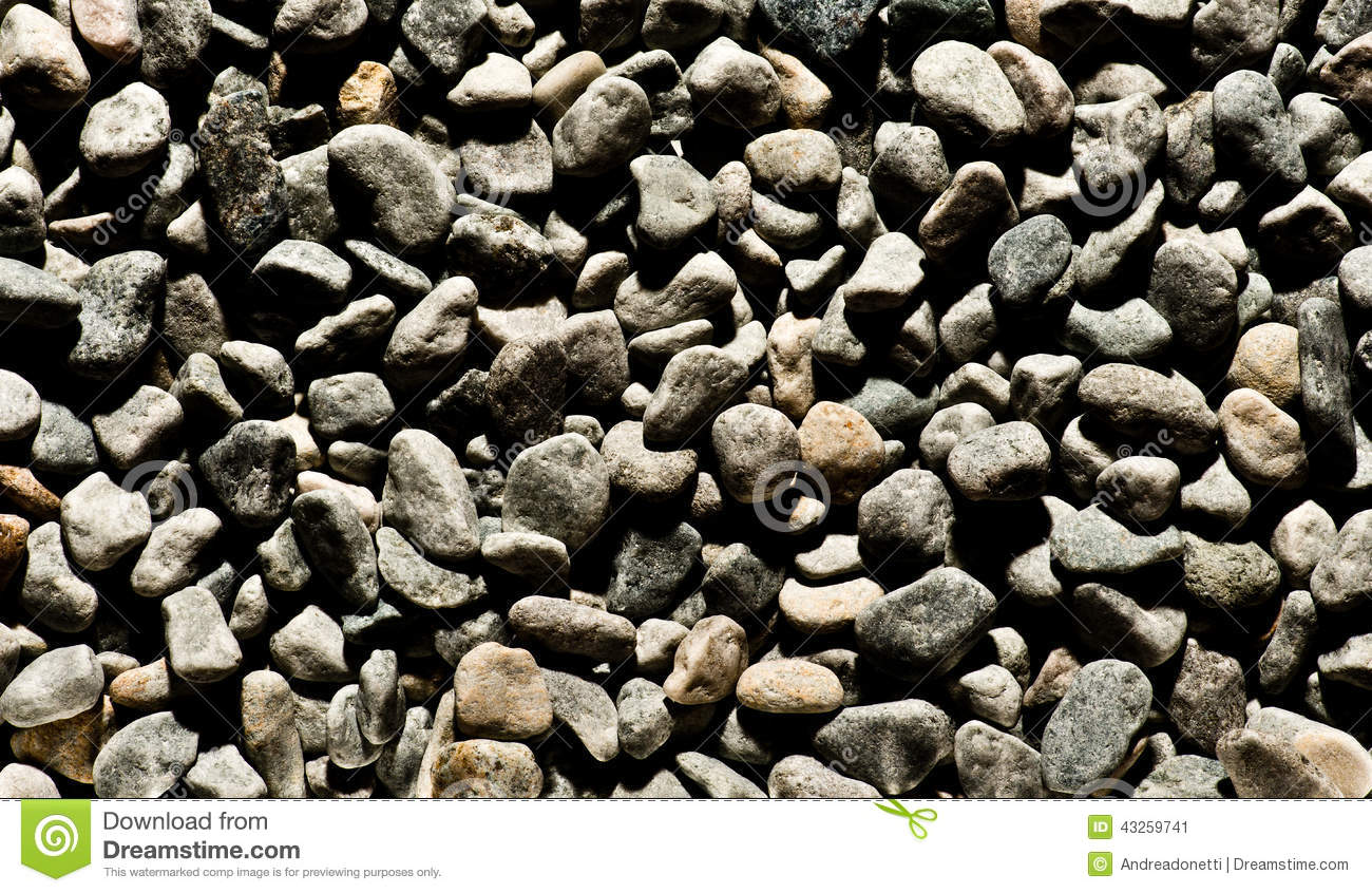 Background texture of dark smooth pebbles stock image for Smooth river rocks for landscaping