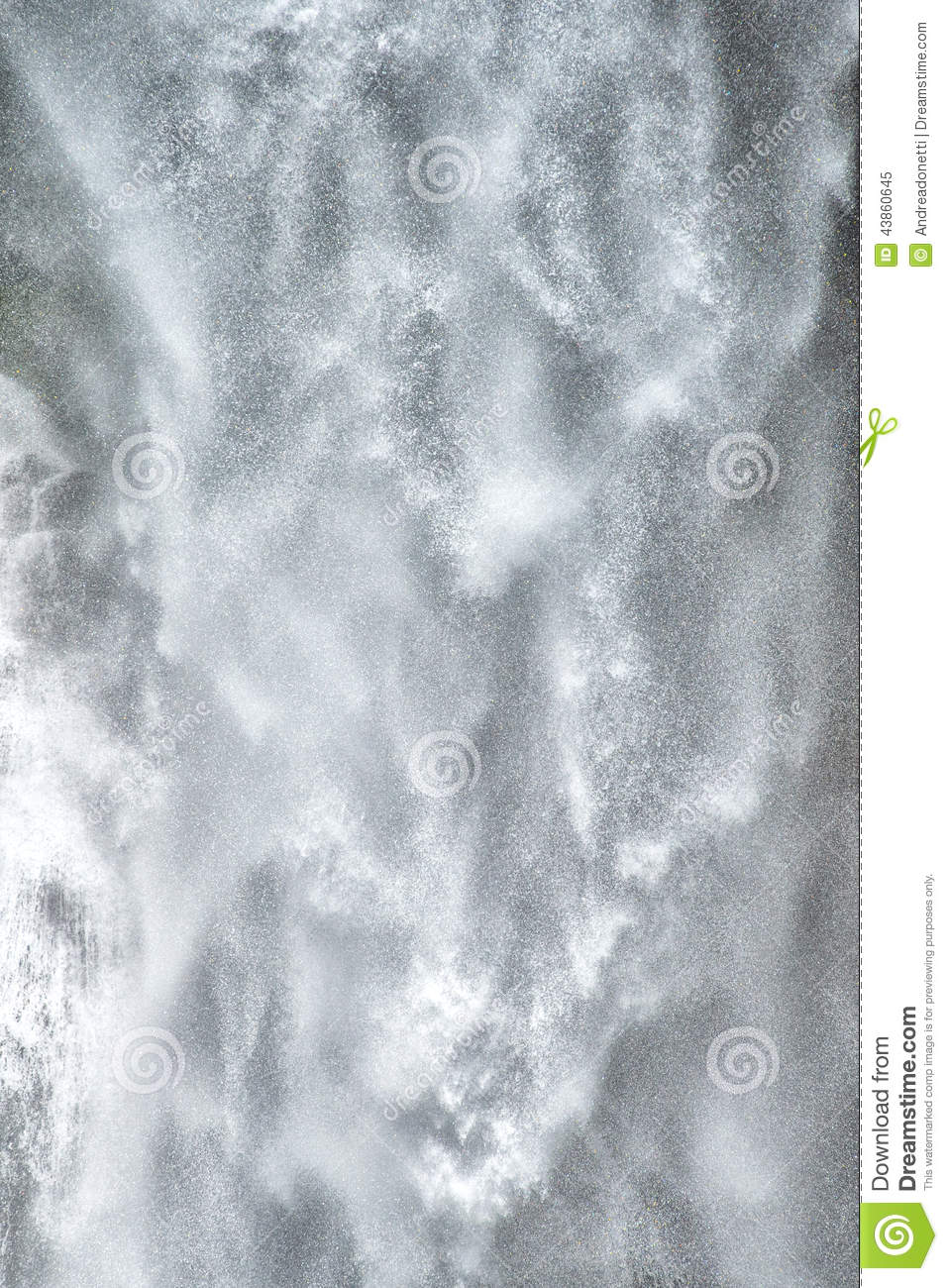 Background Texture Of Falling Water Stock Image Image