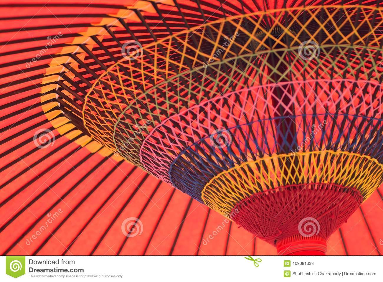 Background Texture Of Japanese Red Parasol Stock Image Image Of
