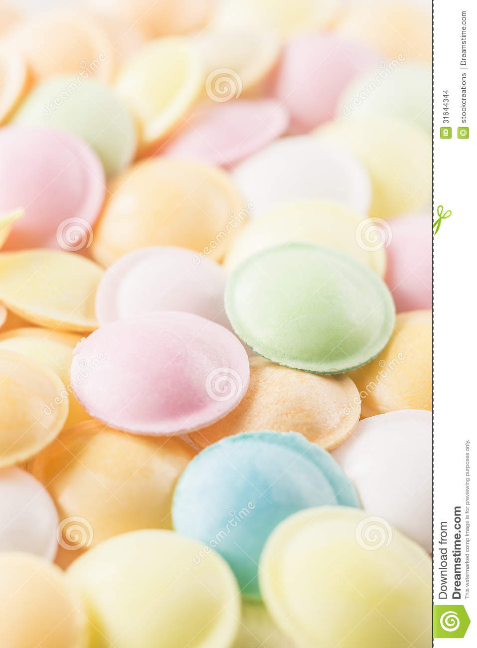Background Texture Made Of Many Round Candies Stock Images ...