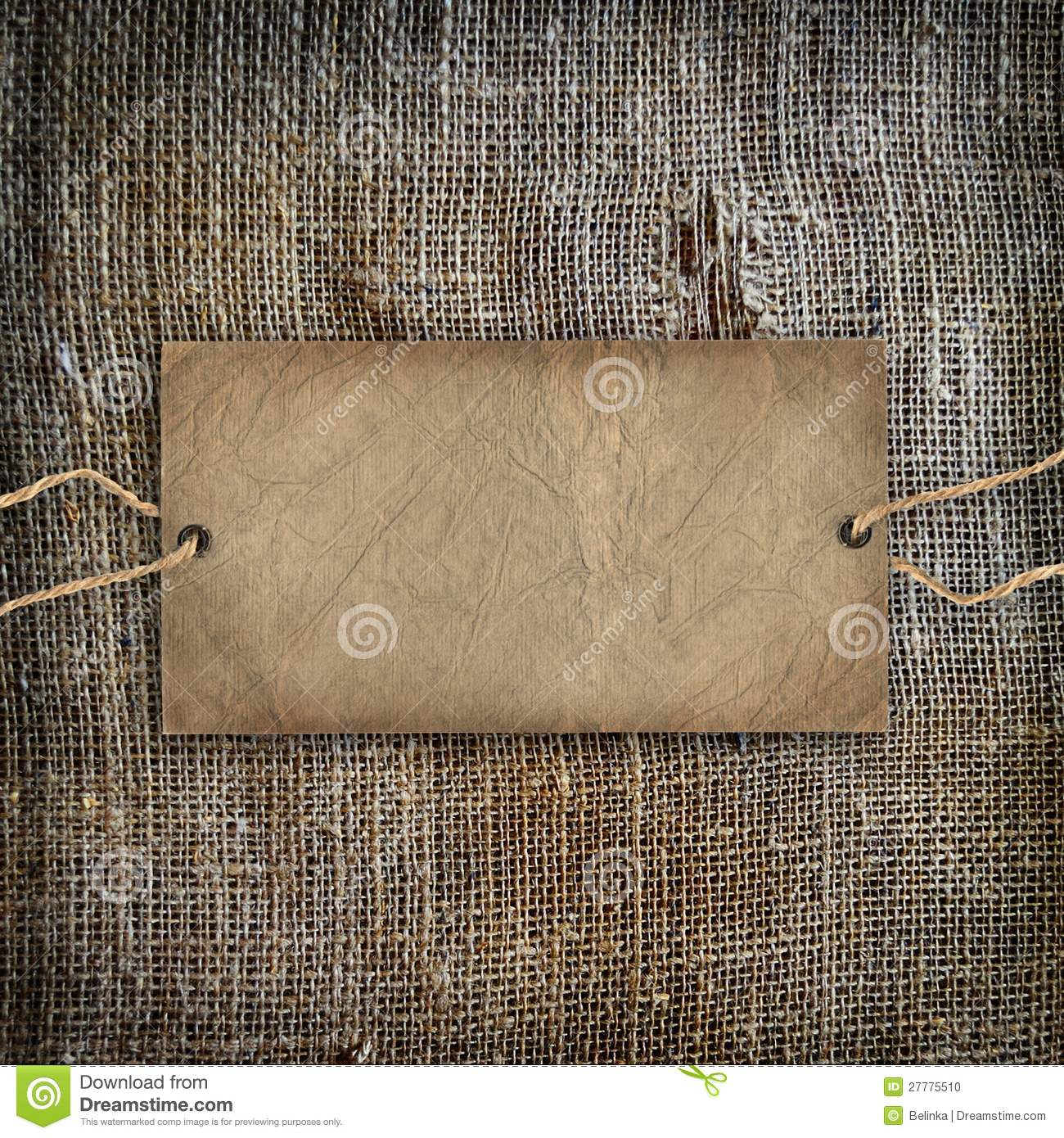 Background Texture Vintage Burlap Stock Photo Image
