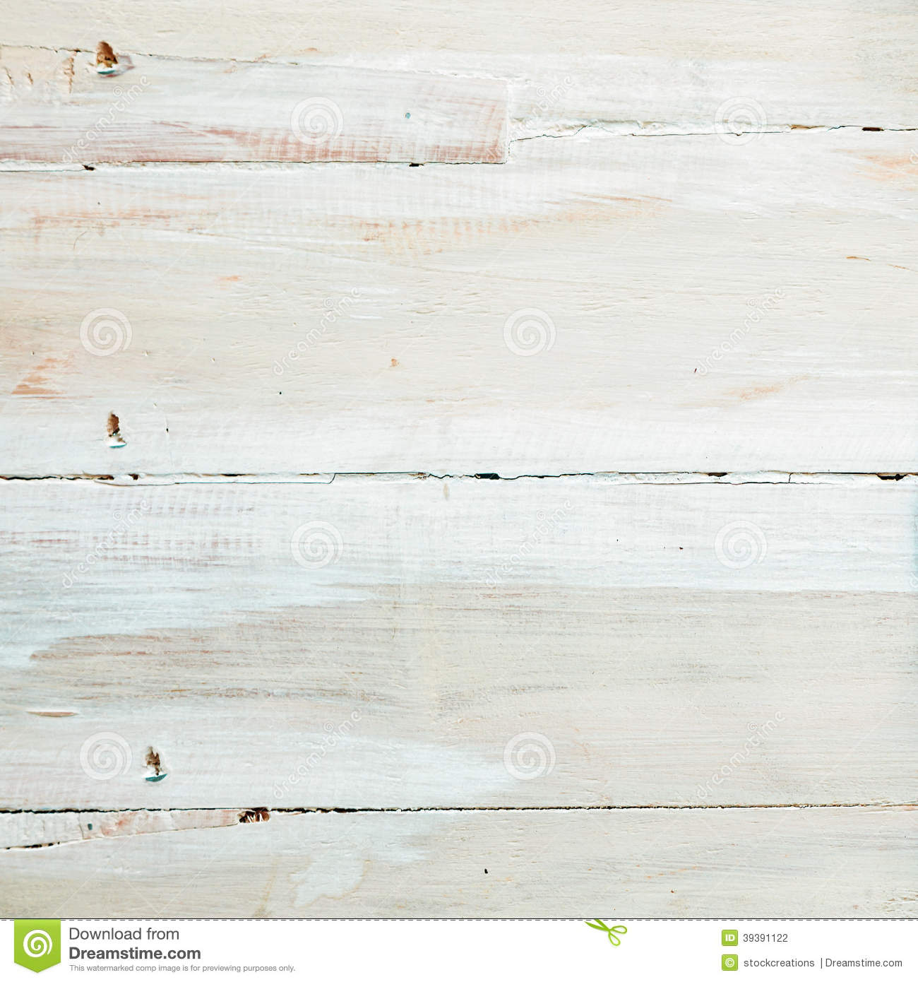 Background Texture Of White Wooden Boards