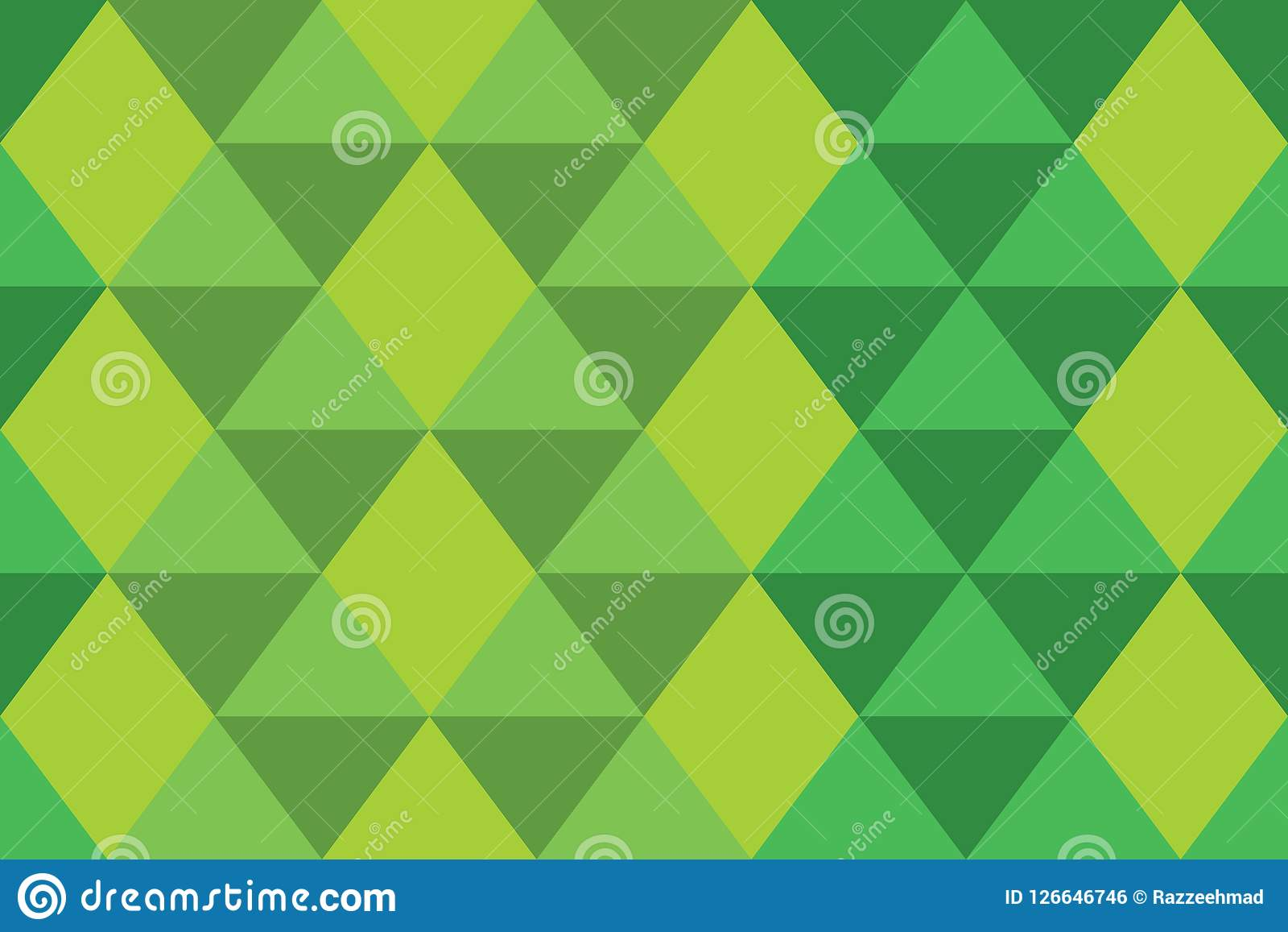 Background triangle green gradation geomatric texture banner wallpaper modern style