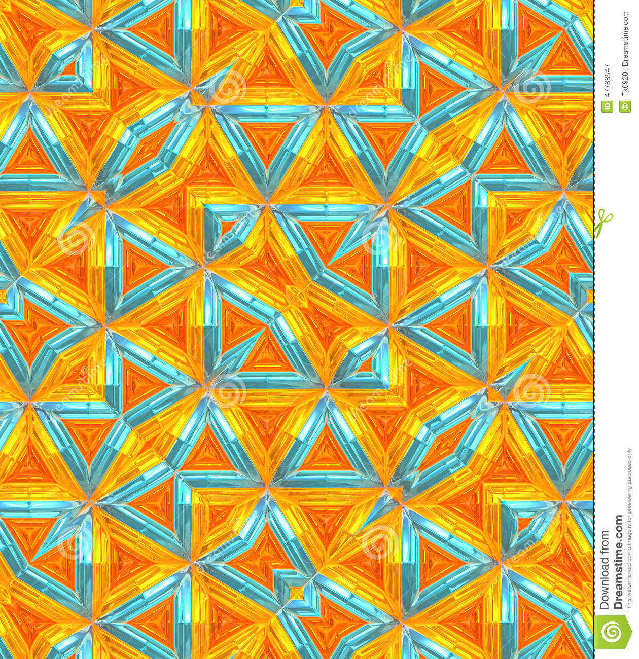 Background With Unique Pattern And Color Combination