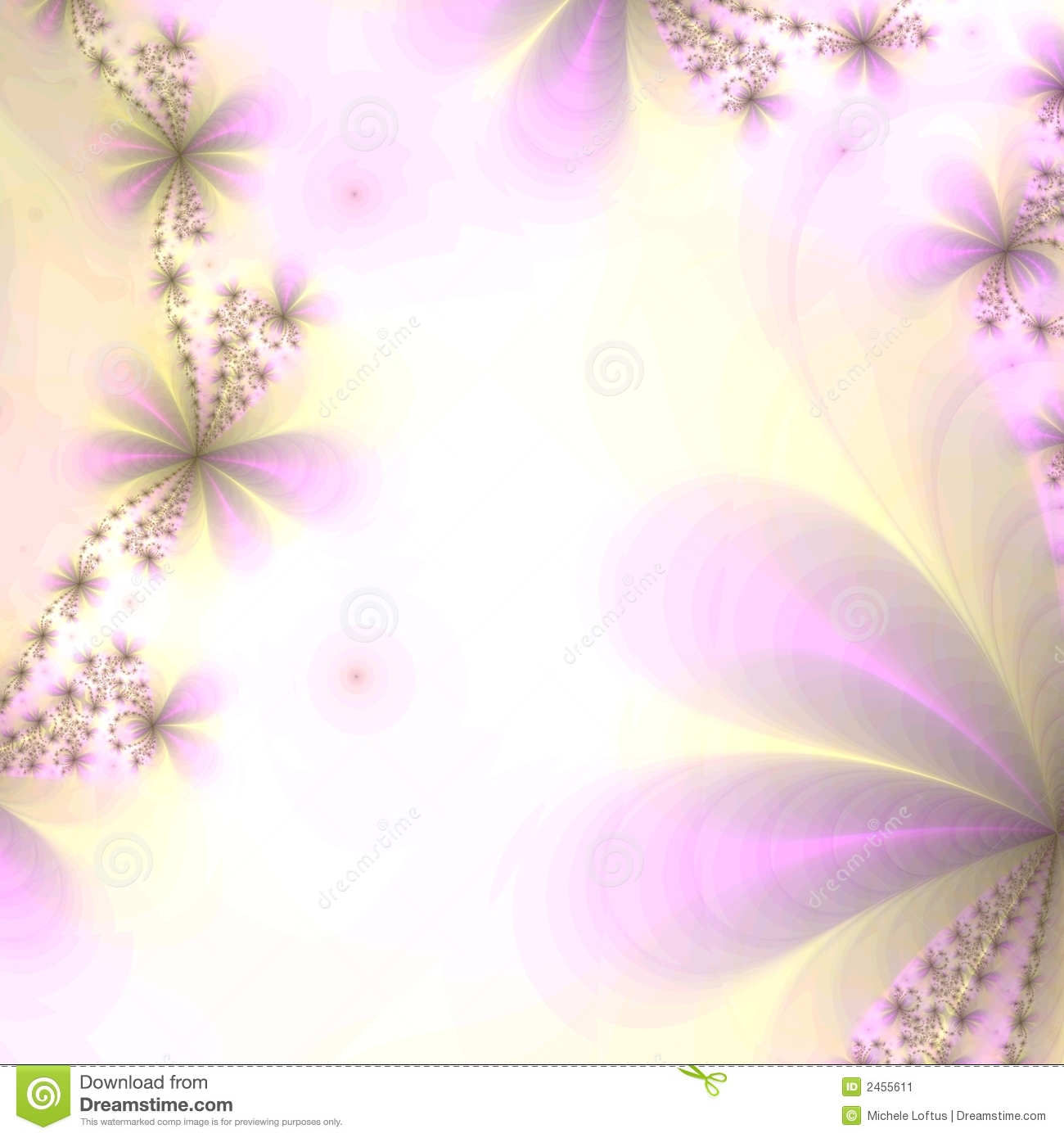 Background in Violet and Gold