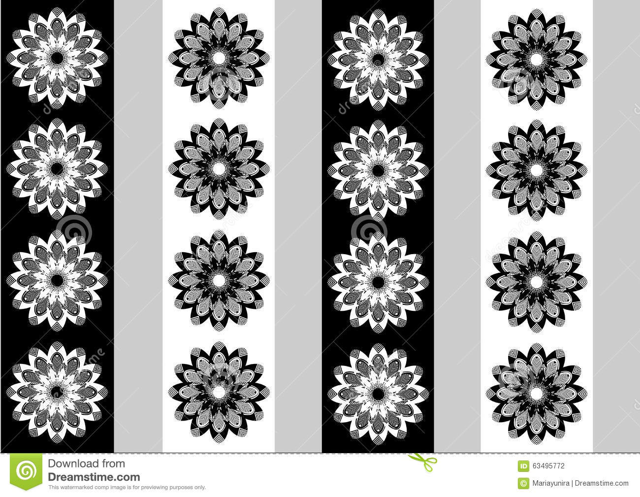 Black And White Flower Wallpaper Designs Awesome Black And White