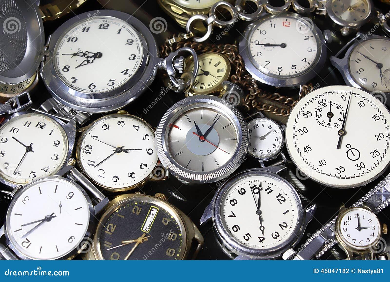 Background Watches Stock Photo Image 45047182