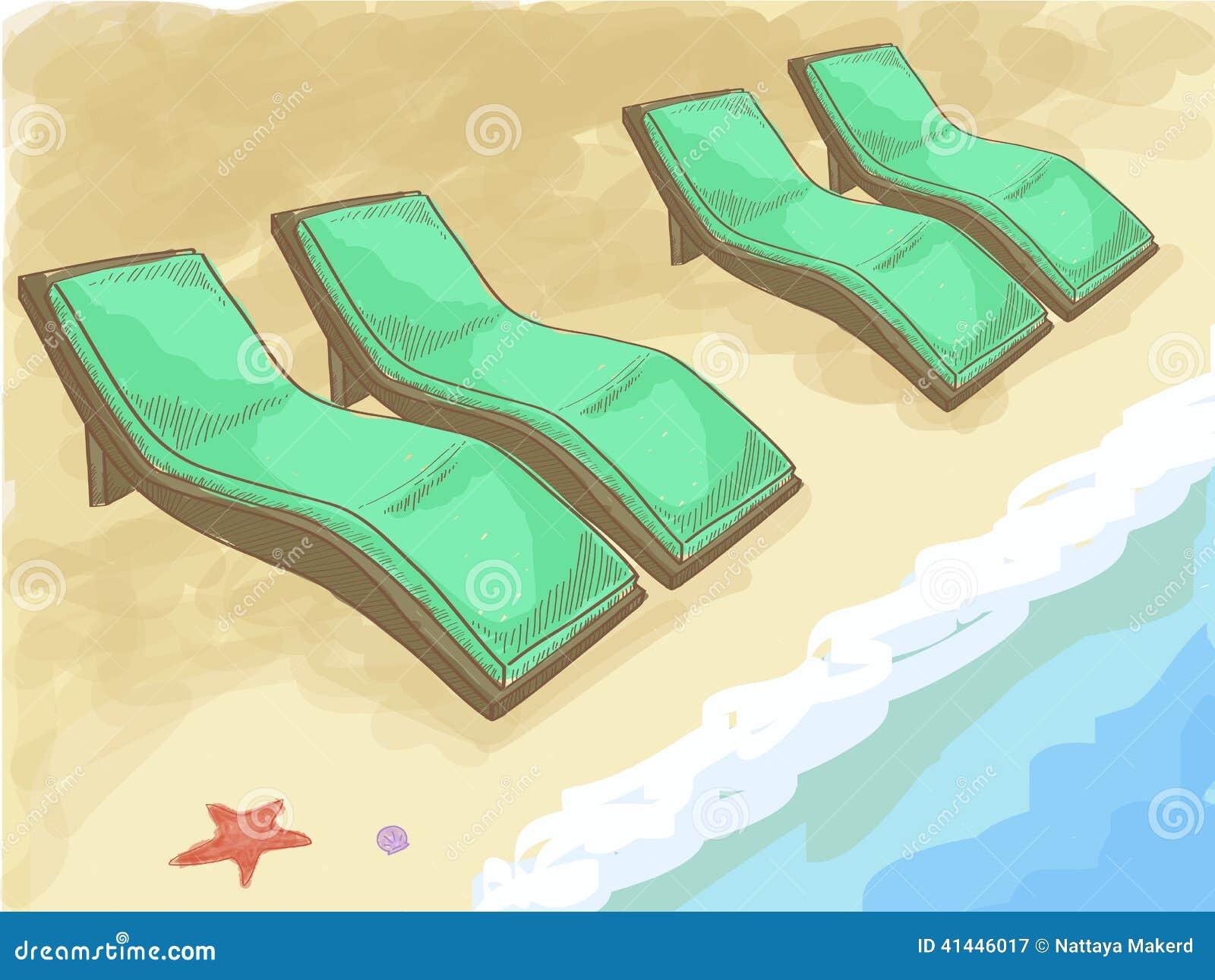 Beach Chair Sketch Stock Illustrations 584 Beach Chair Sketch Stock Illustrations Vectors Clipart Dreamstime