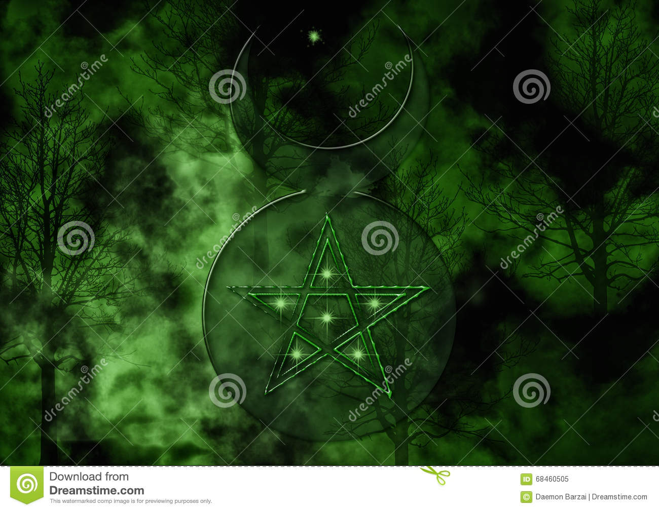 Background with wiccan god symbol stock illustration background with wiccan god symbol biocorpaavc Choice Image