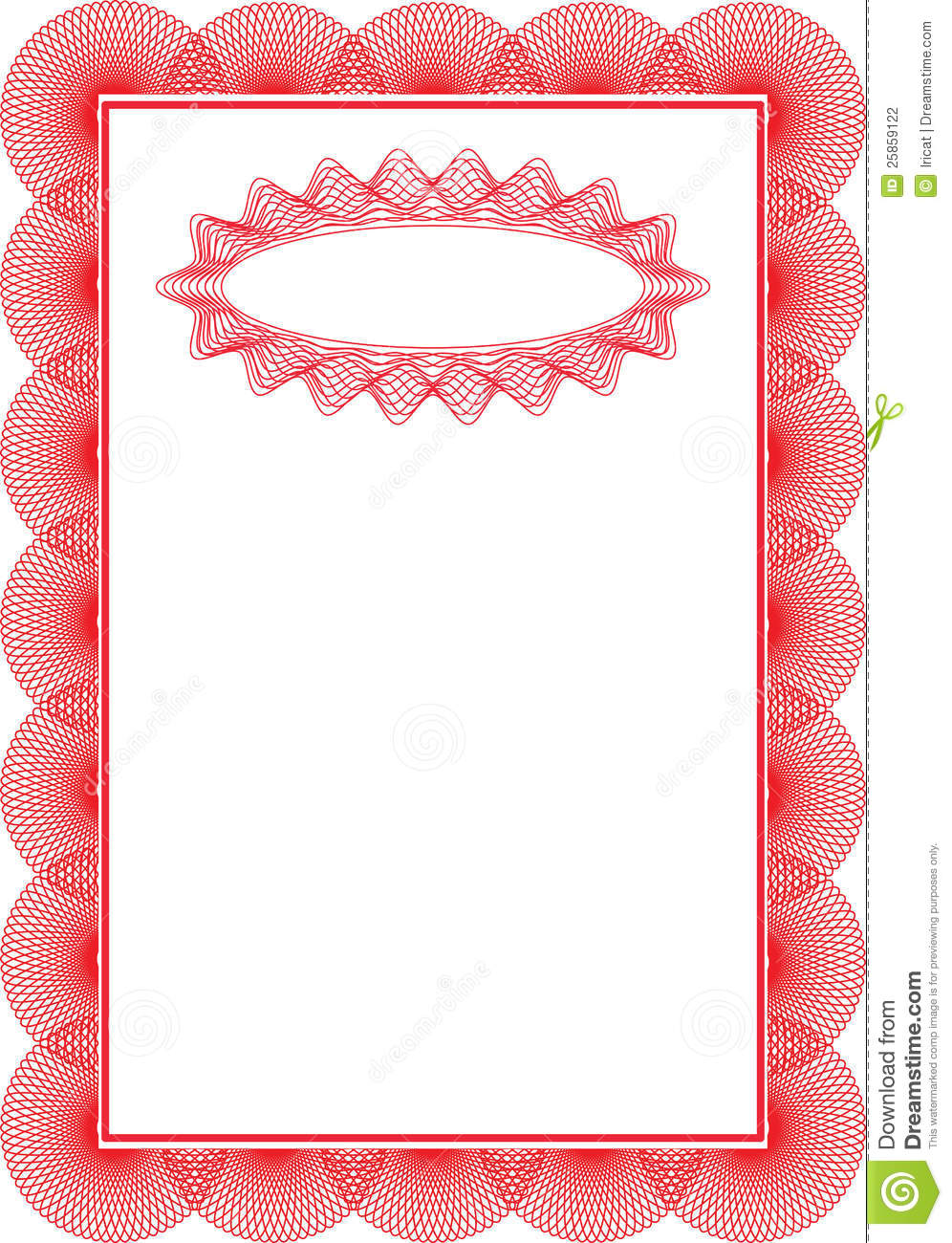 Backgrounds Certificate Stock Photography Image 25859122