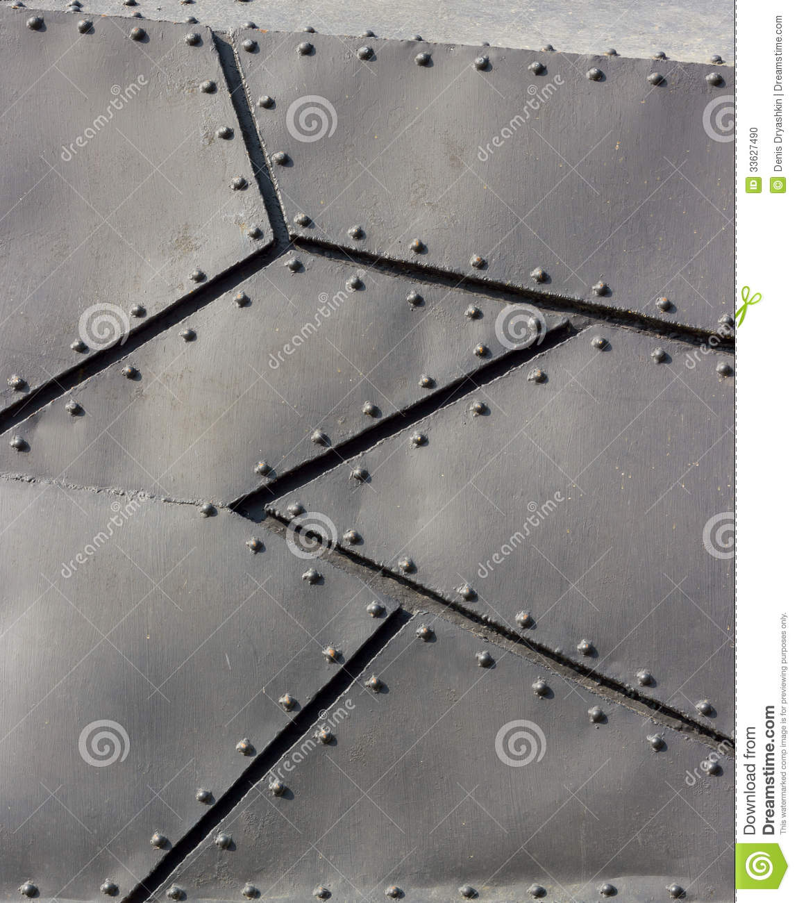 Backgrounds Collection Texture Of Metal Stock Photo