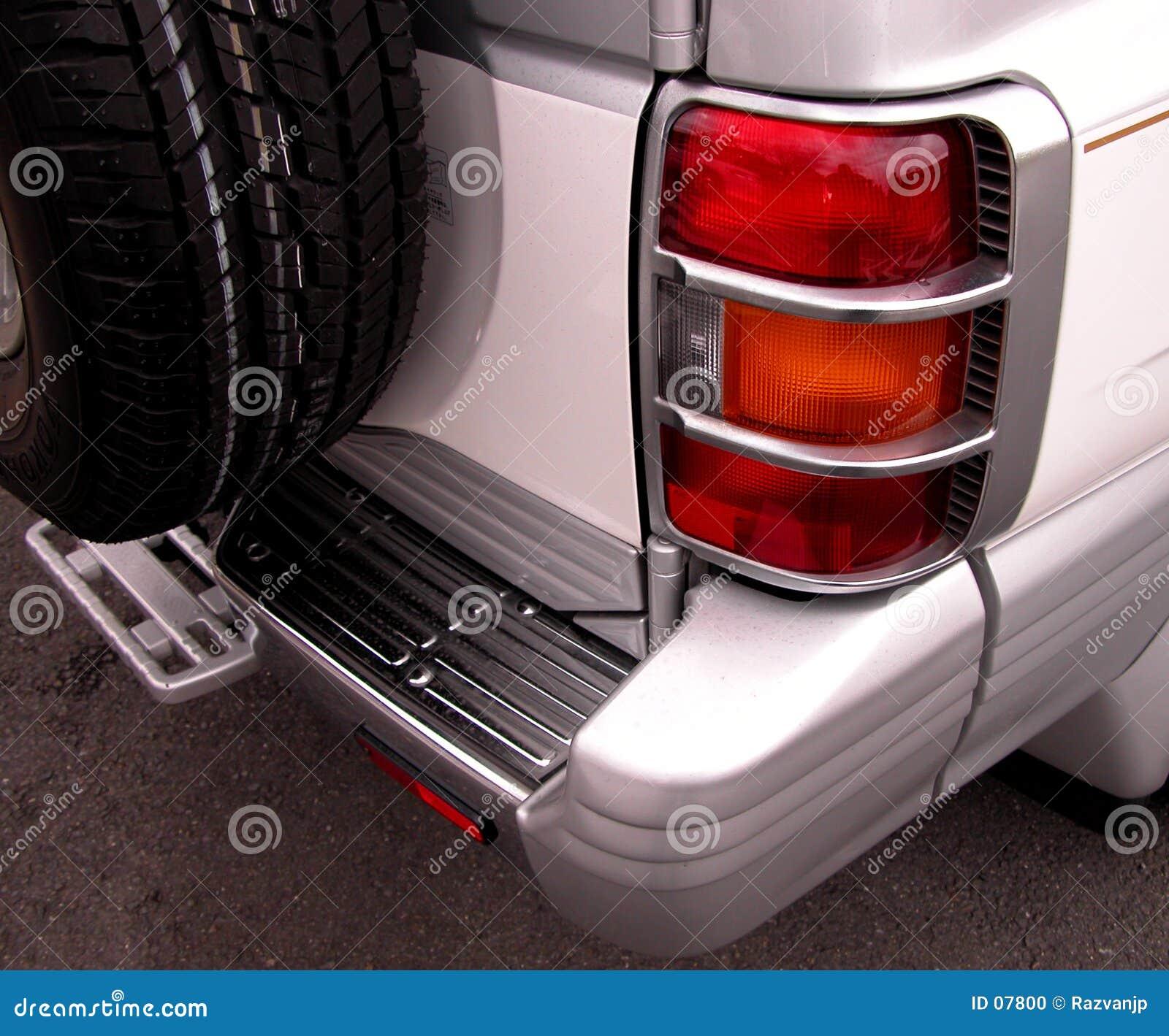 Backlight bilen
