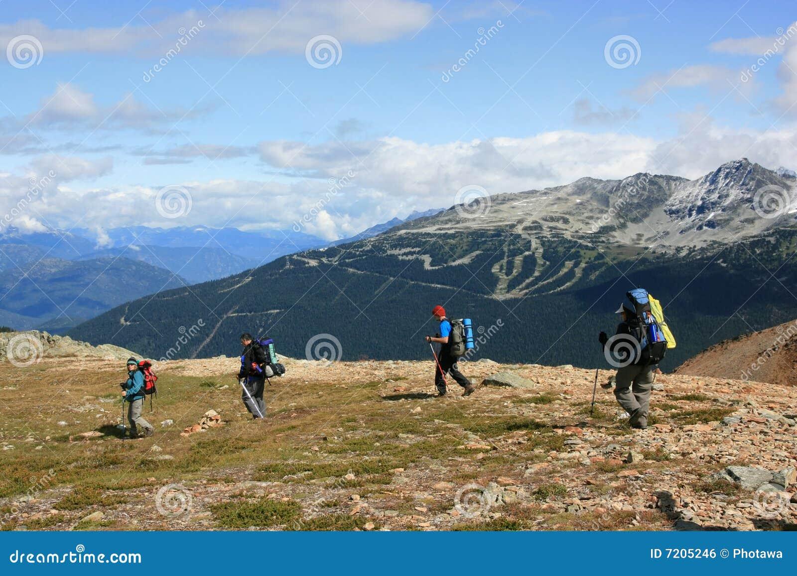 Backpackers Near Whistler-Blackcomb