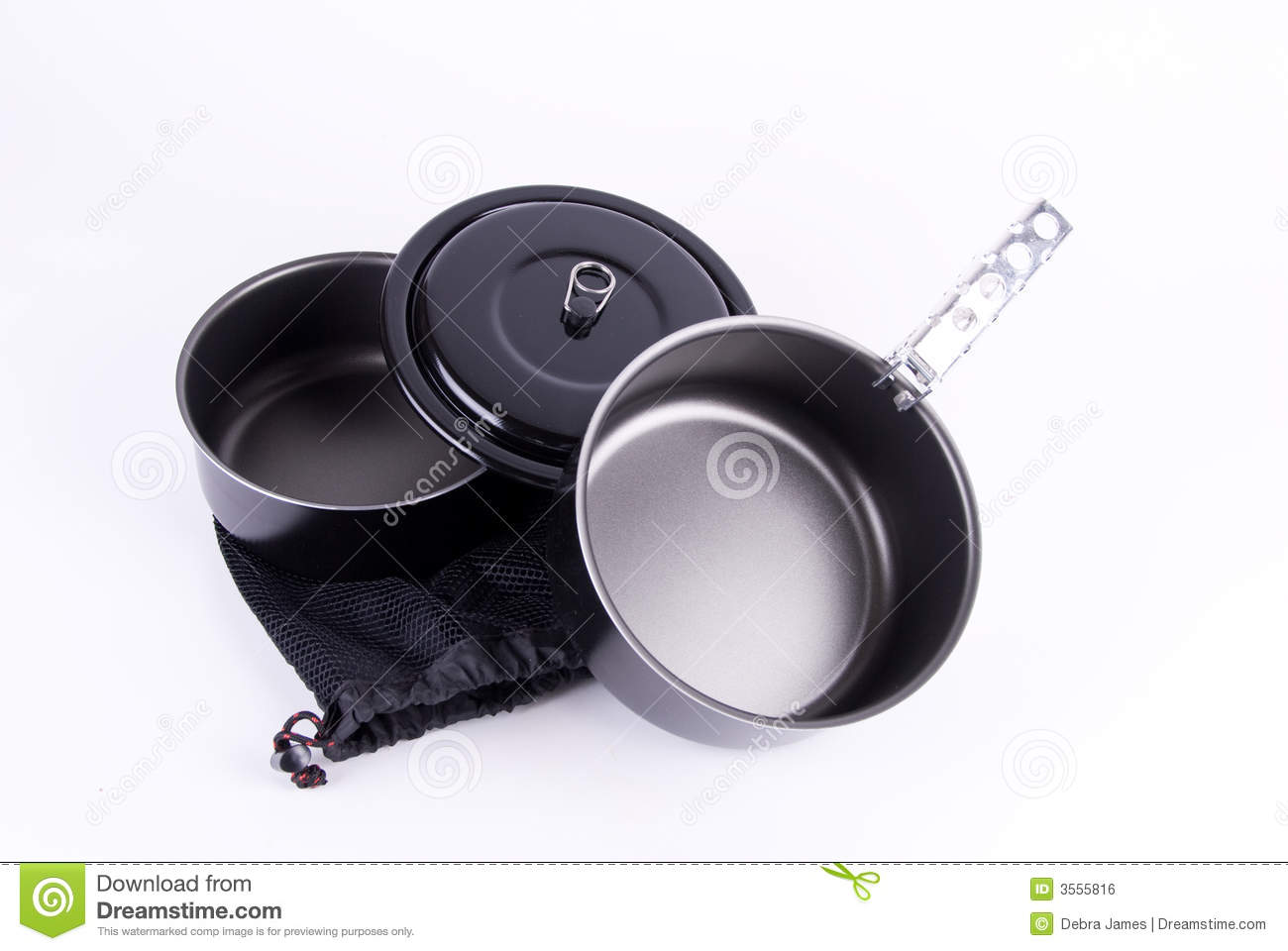 Backpacking cookware λευκό