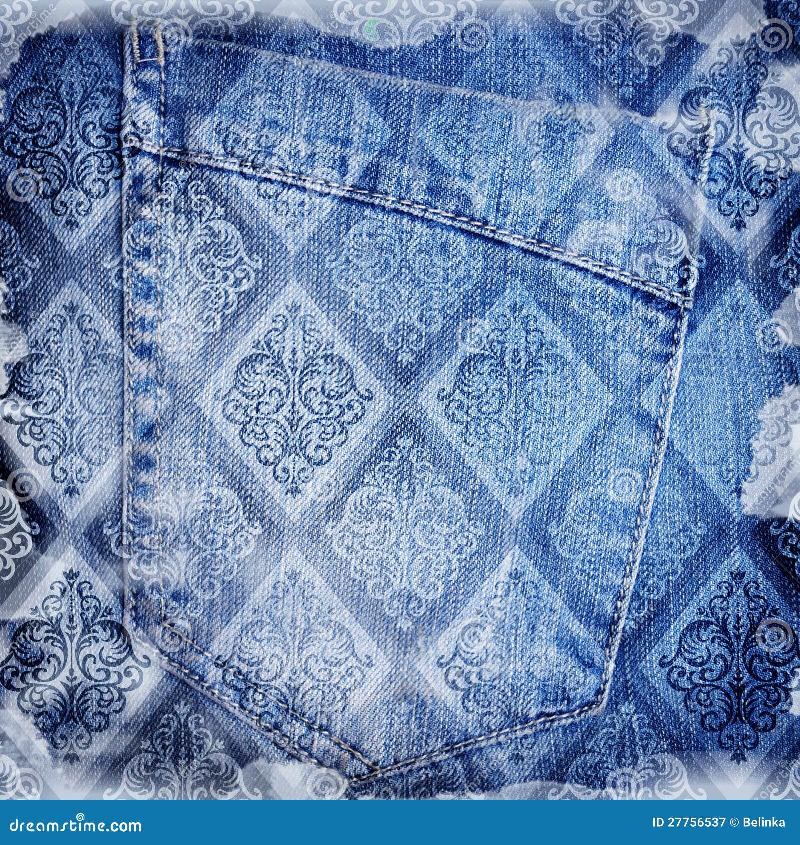 Backround abstrait de jeans