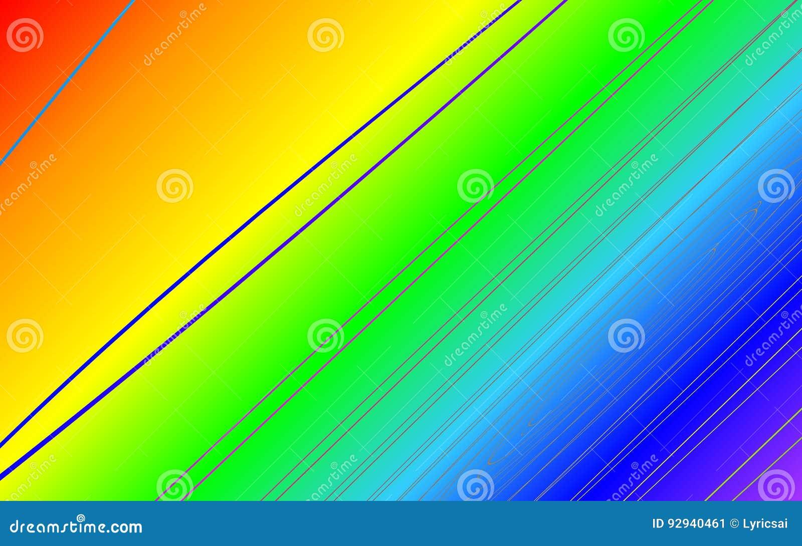 Backround do efeito do arco-íris