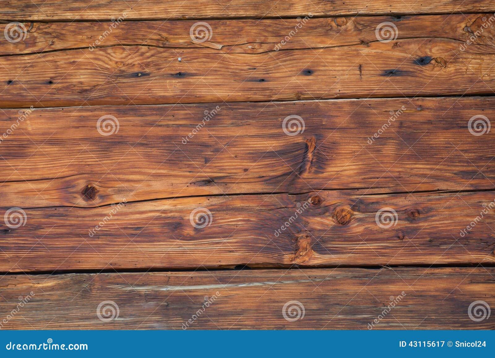 Backround en bois