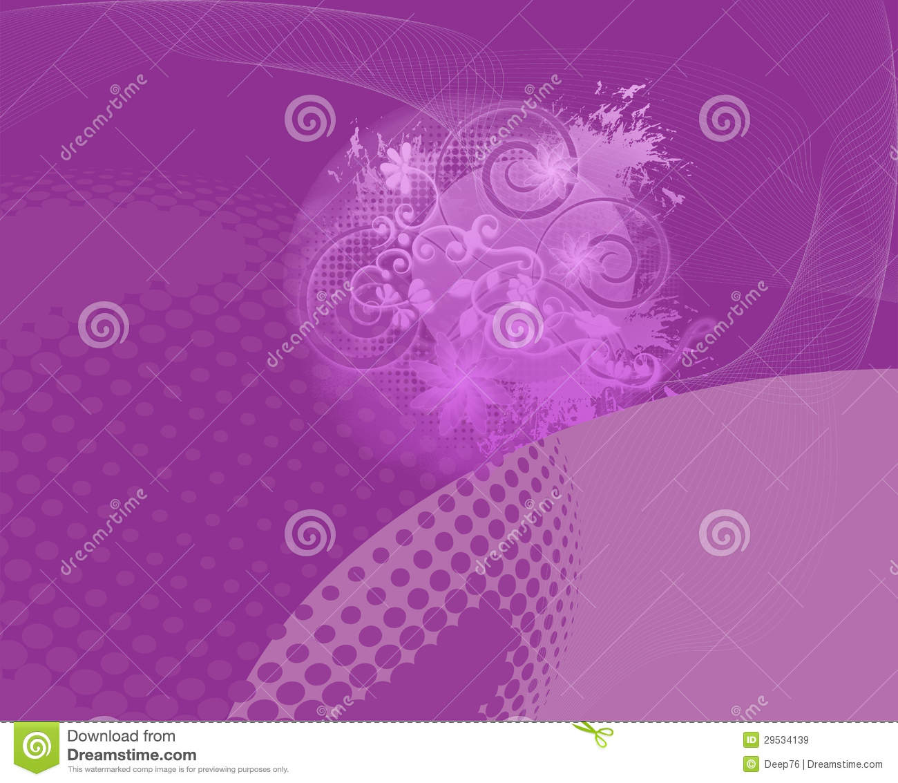 Backround floral abstrato roxo