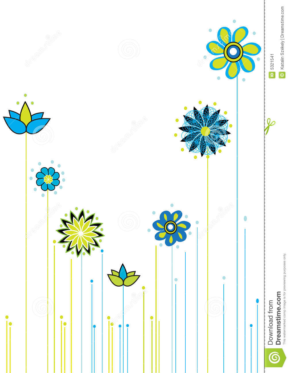 Download Backround Floreale Di Abastract Illustrazione di Stock - Illustrazione di fiori, decorazione: 5321541