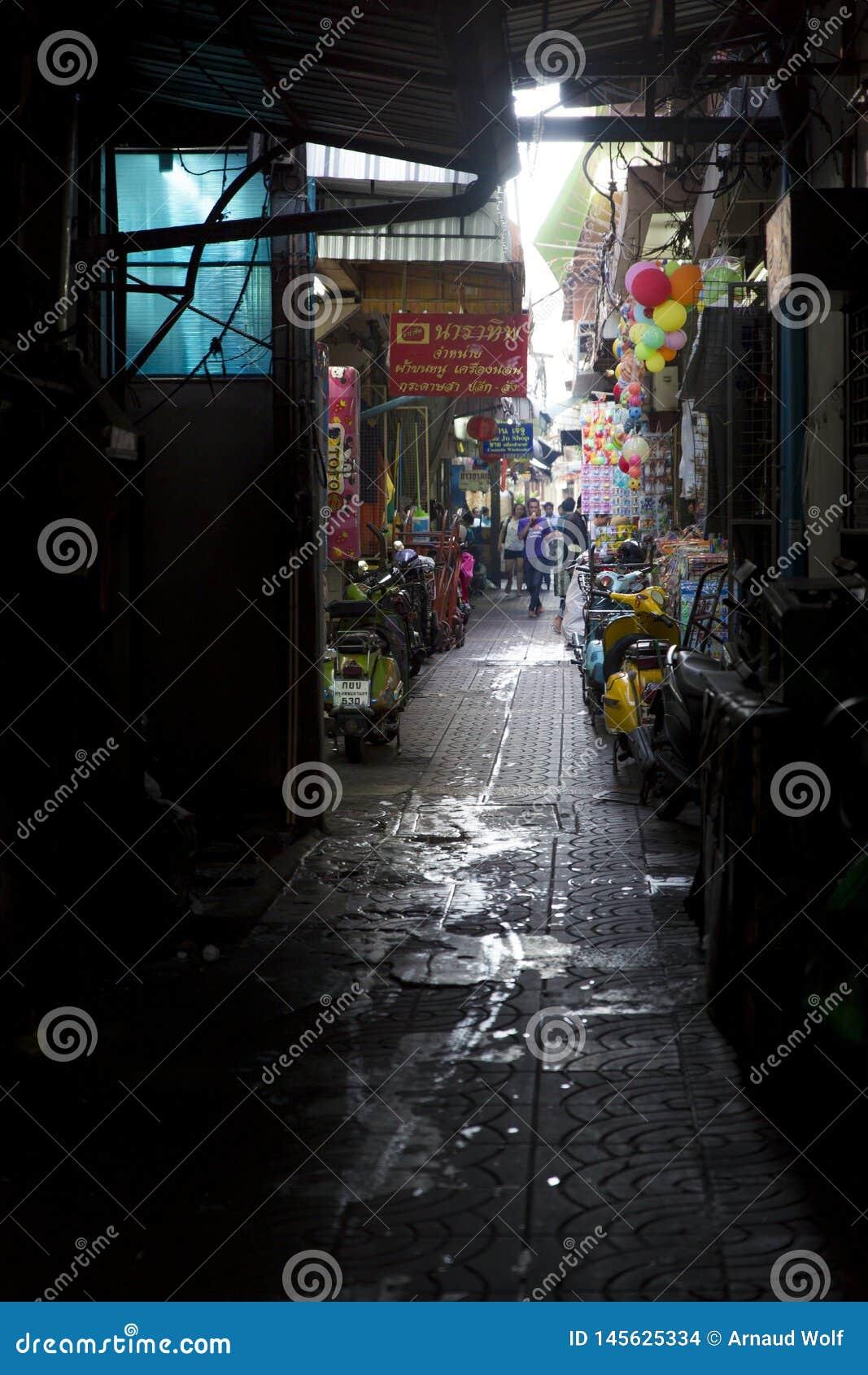 Backstreet di Bangkok