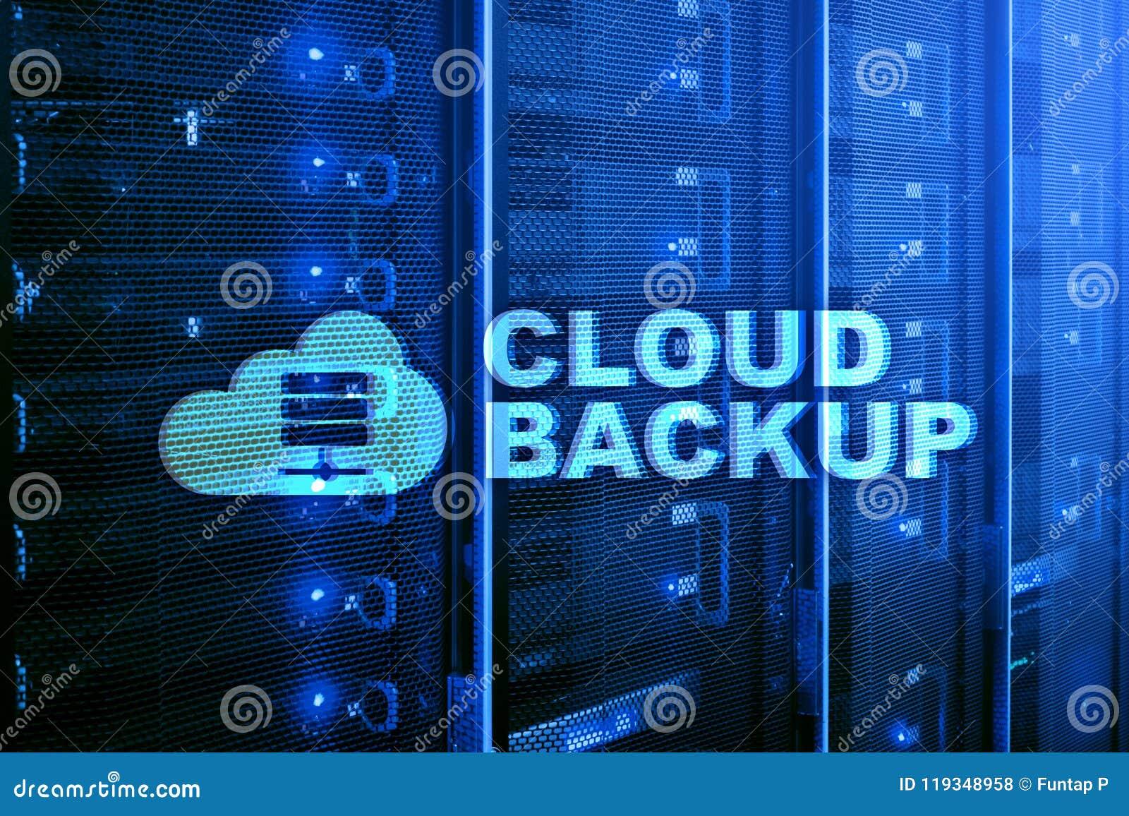 Backup della nuvola Prevenzione degli infortuni di dati del server Sicurezza cyber